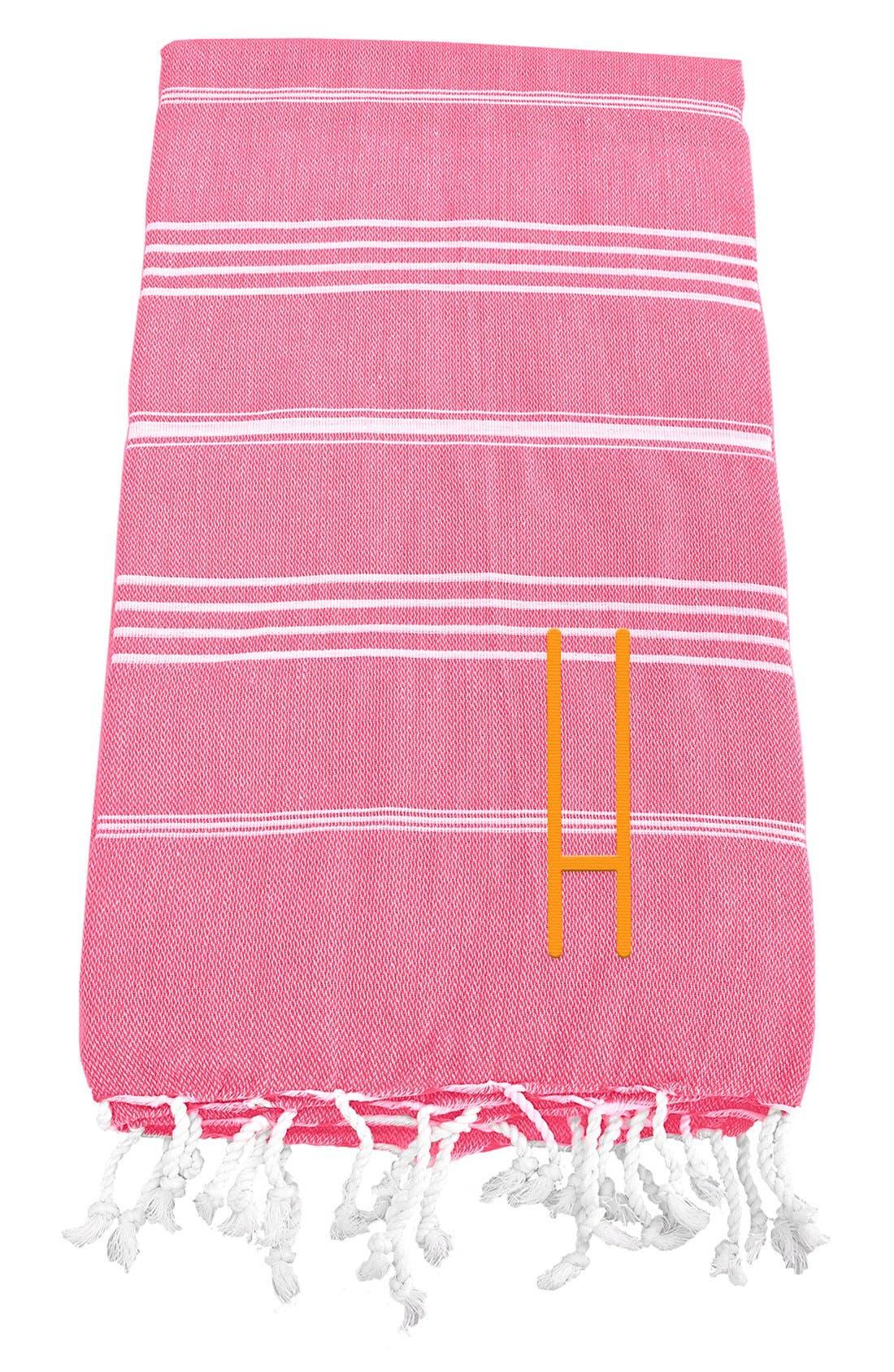 Monogram Turkish Cotton Towel,                             Main thumbnail 144, color,