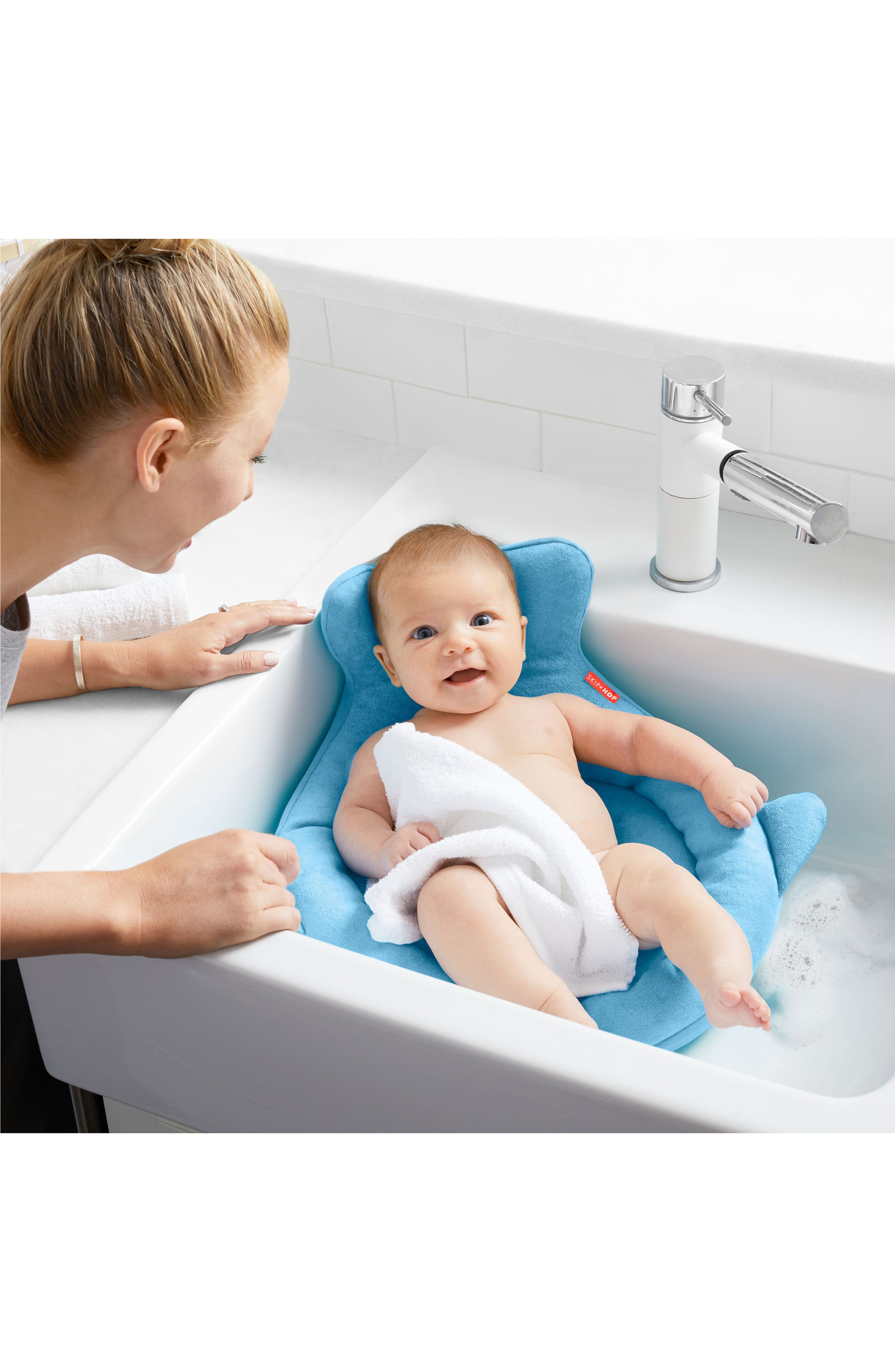 Moby Softspot Sink Bather Inset,                             Alternate thumbnail 6, color,                             MOBY