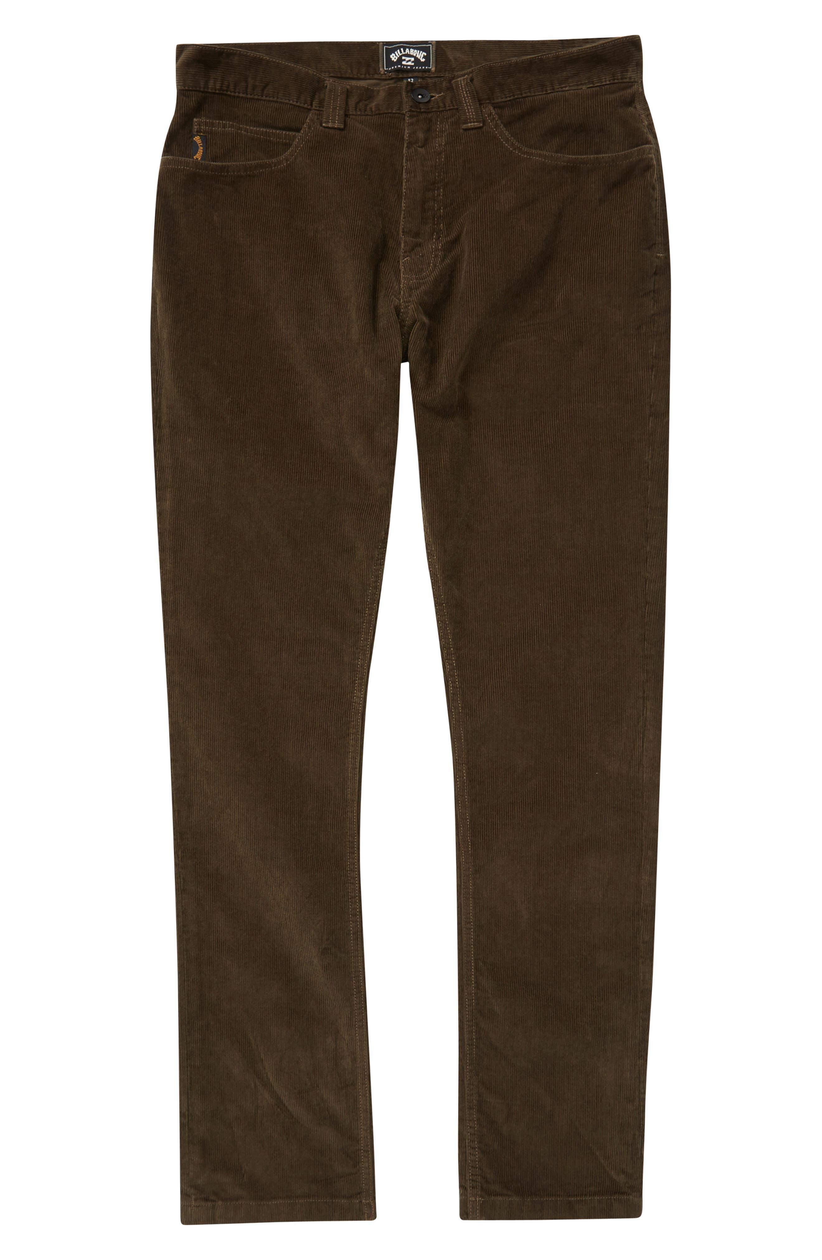 Outsider Corduroy Pants,                             Main thumbnail 1, color,                             COFFEE