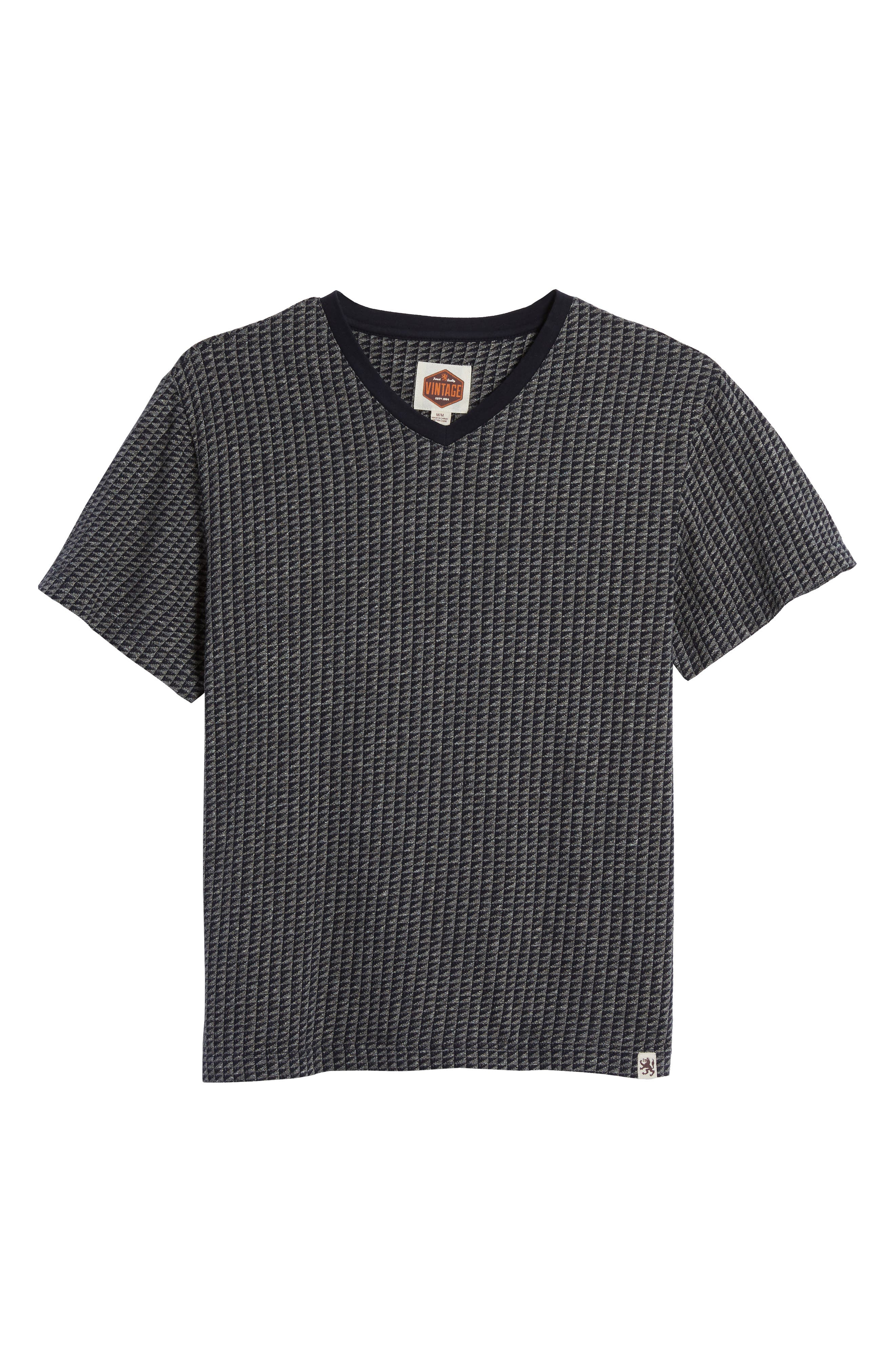 Trey V-Neck T-Shirt,                             Alternate thumbnail 6, color,                             030