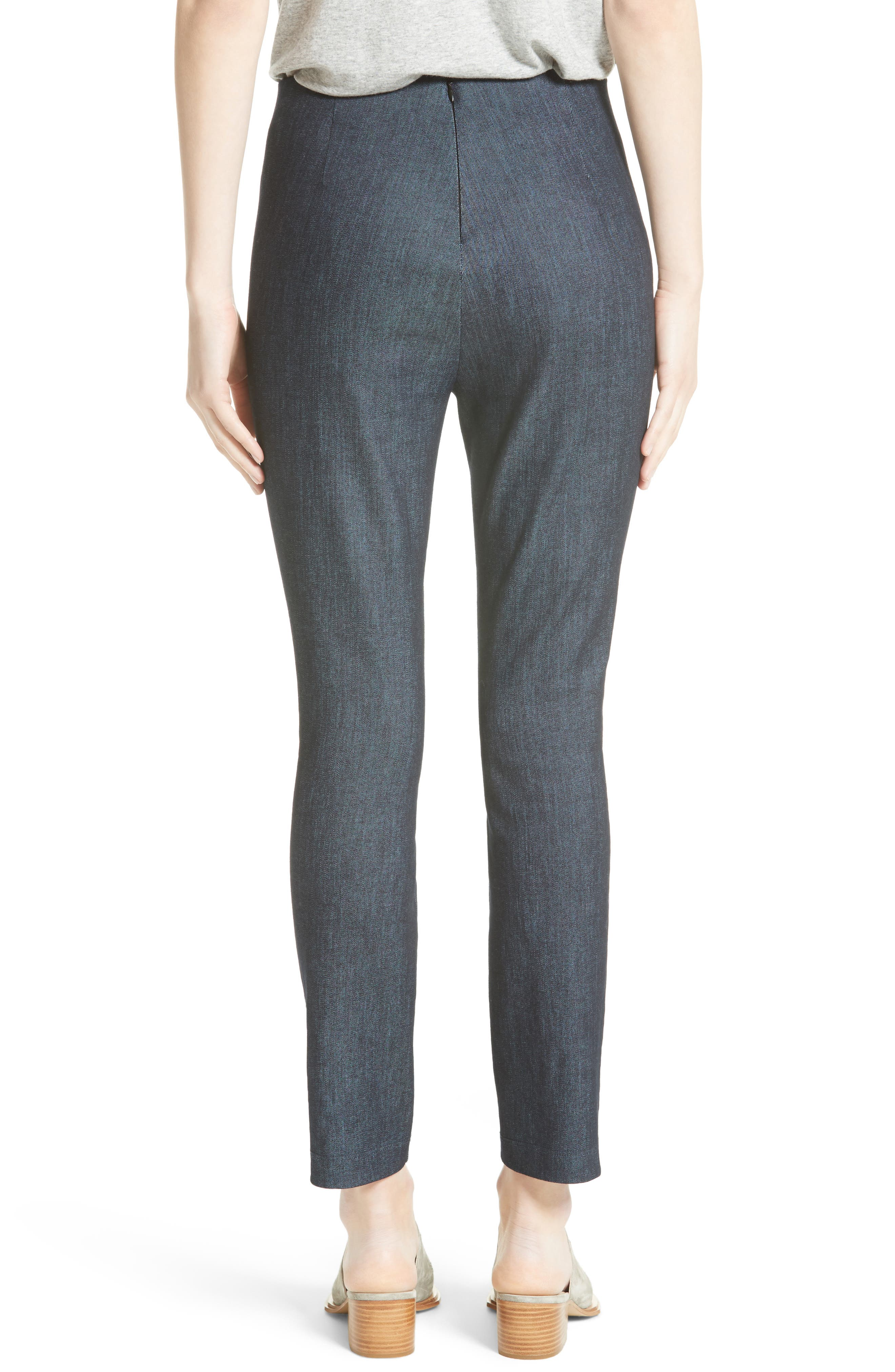Simone Slim Ankle Pants,                             Alternate thumbnail 2, color,                             INDIGO