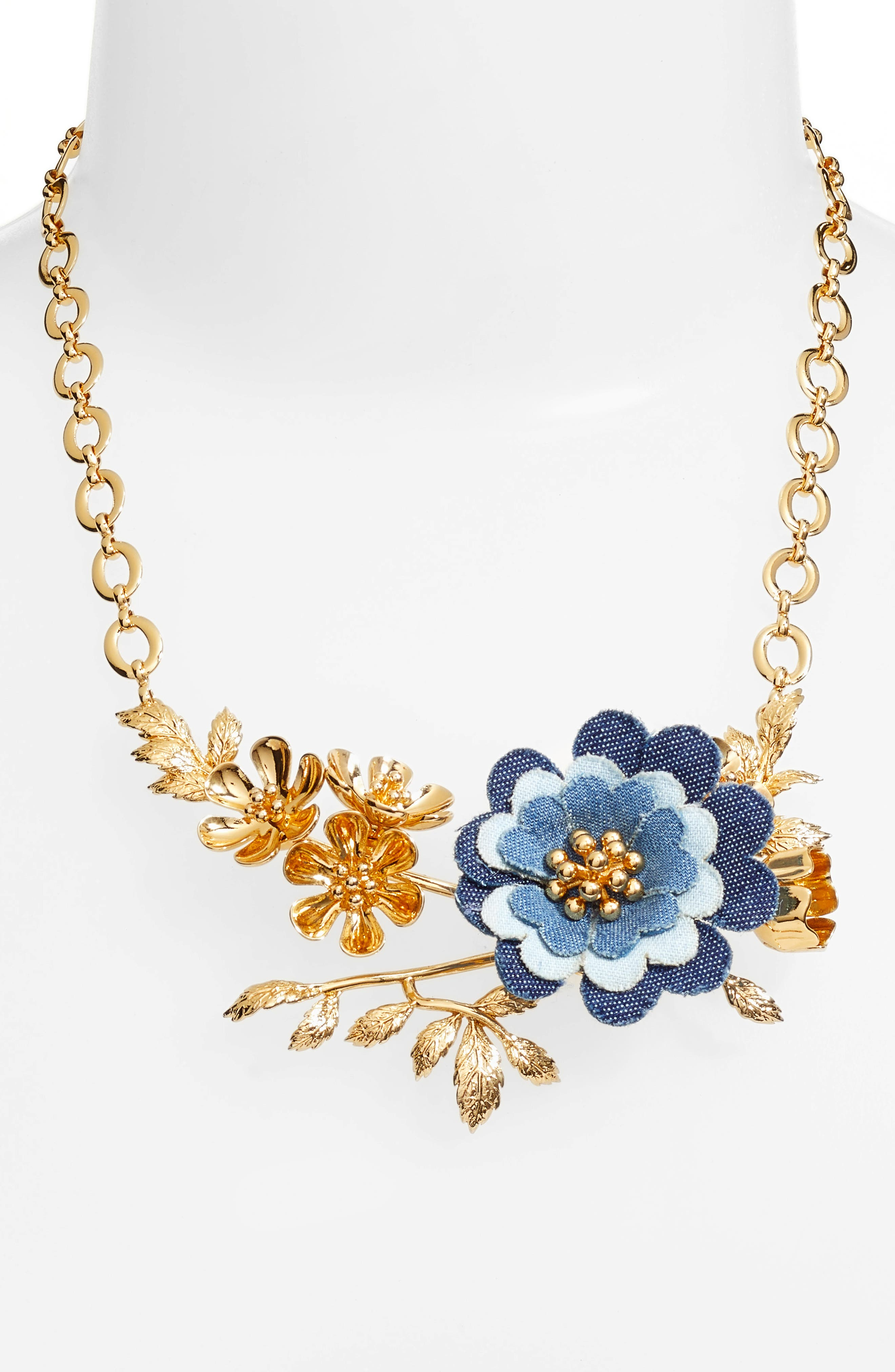 flower child necklace,                             Alternate thumbnail 2, color,