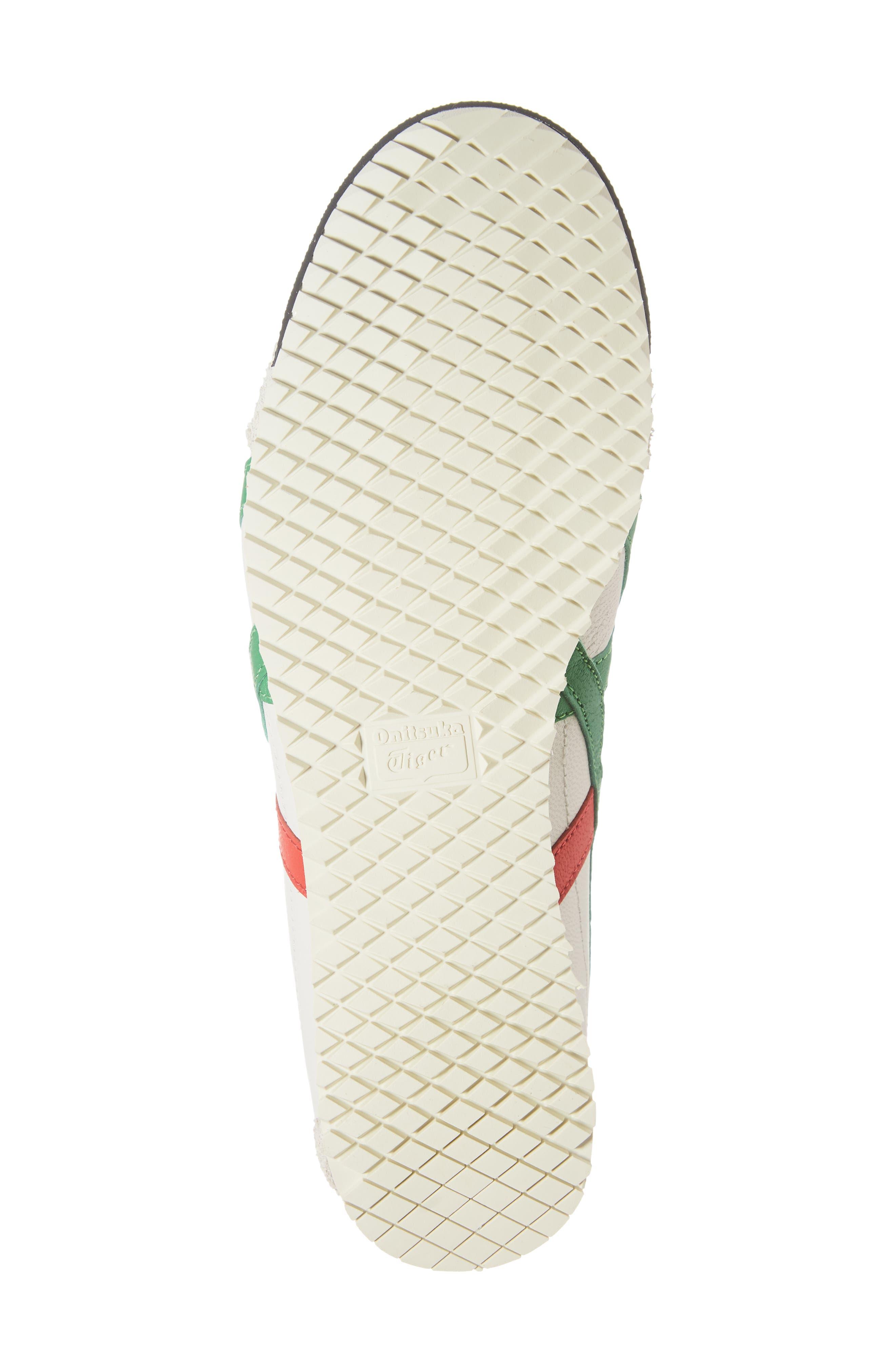 Mexico SD Sneaker,                             Alternate thumbnail 6, color,                             CREAM/ GREEN