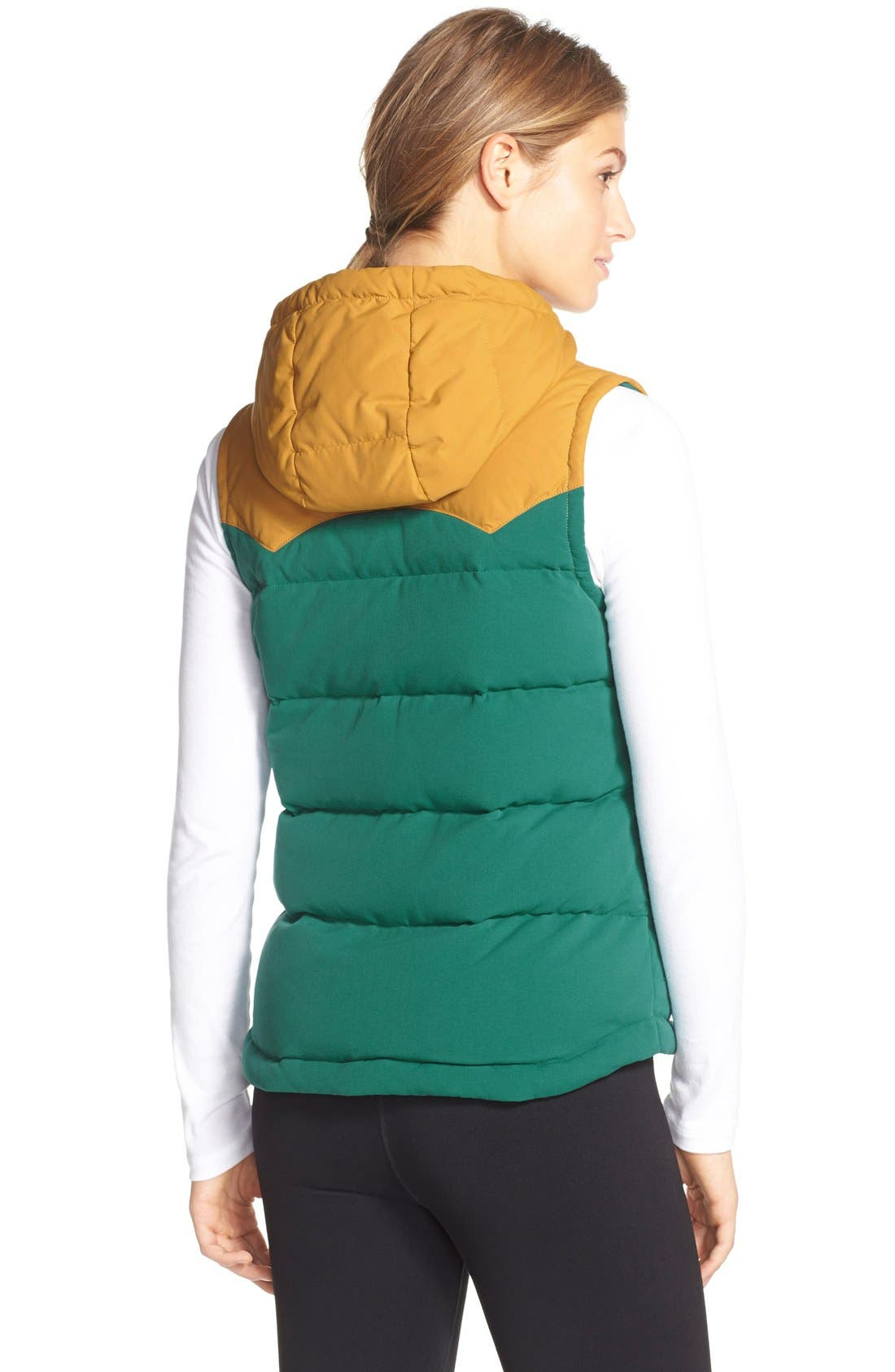 'Bivy' Water Repellent 600 Fill Power Down Vest,                             Alternate thumbnail 18, color,