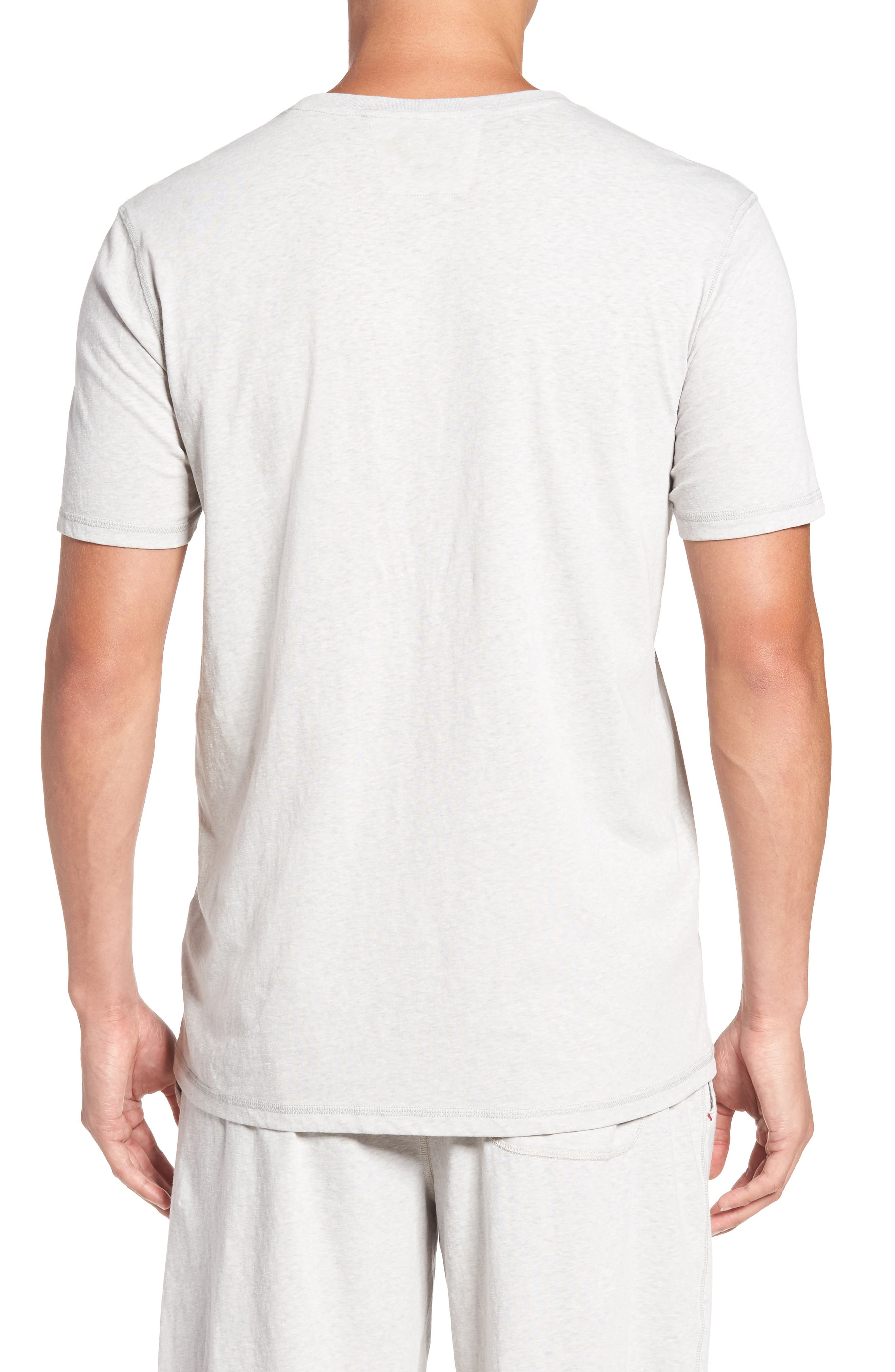 Recycled Cotton Blend T-Shirt,                             Alternate thumbnail 2, color,                             020