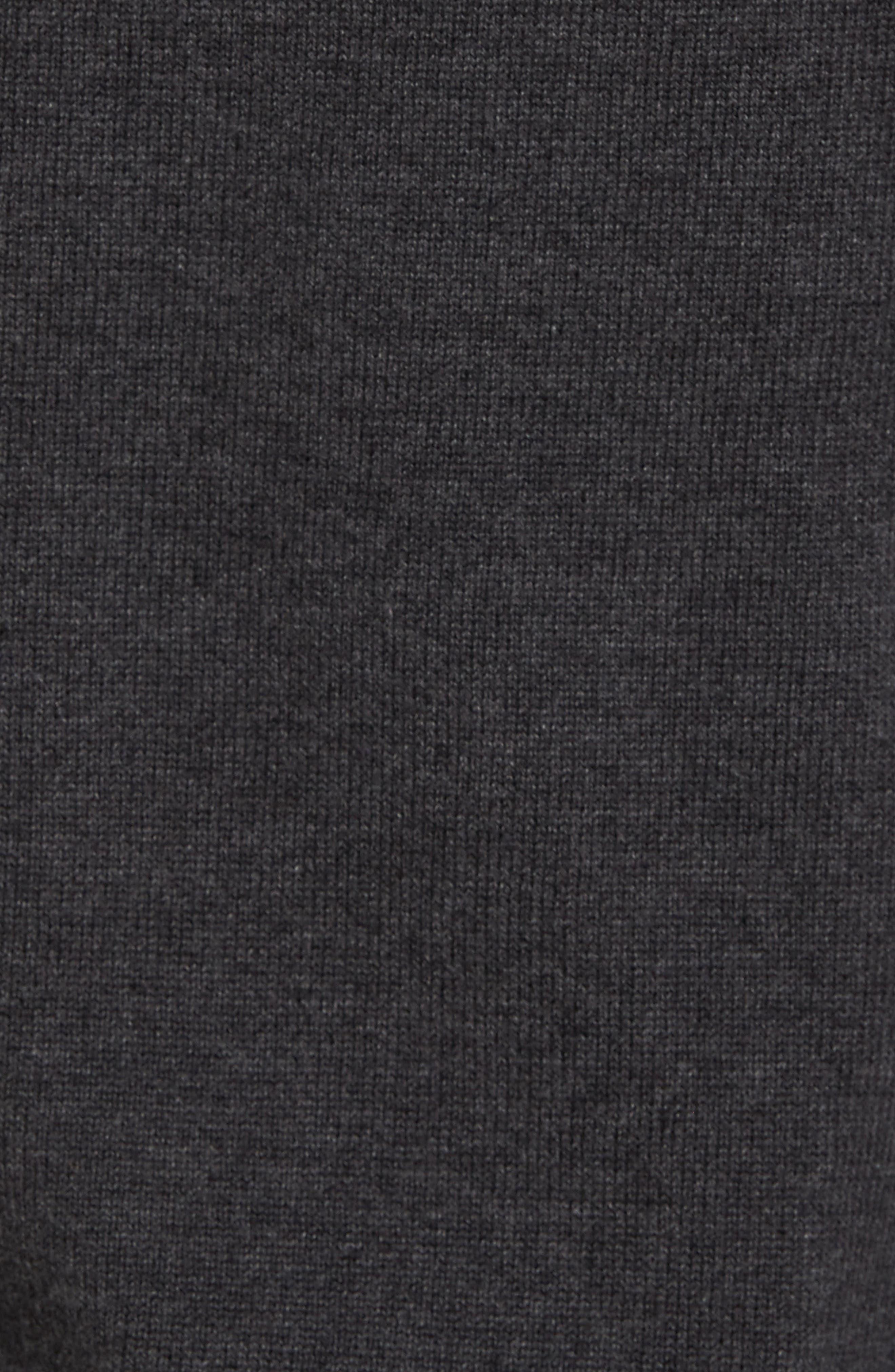 Fine Gauge Cotton Hoodie,                             Alternate thumbnail 9, color,
