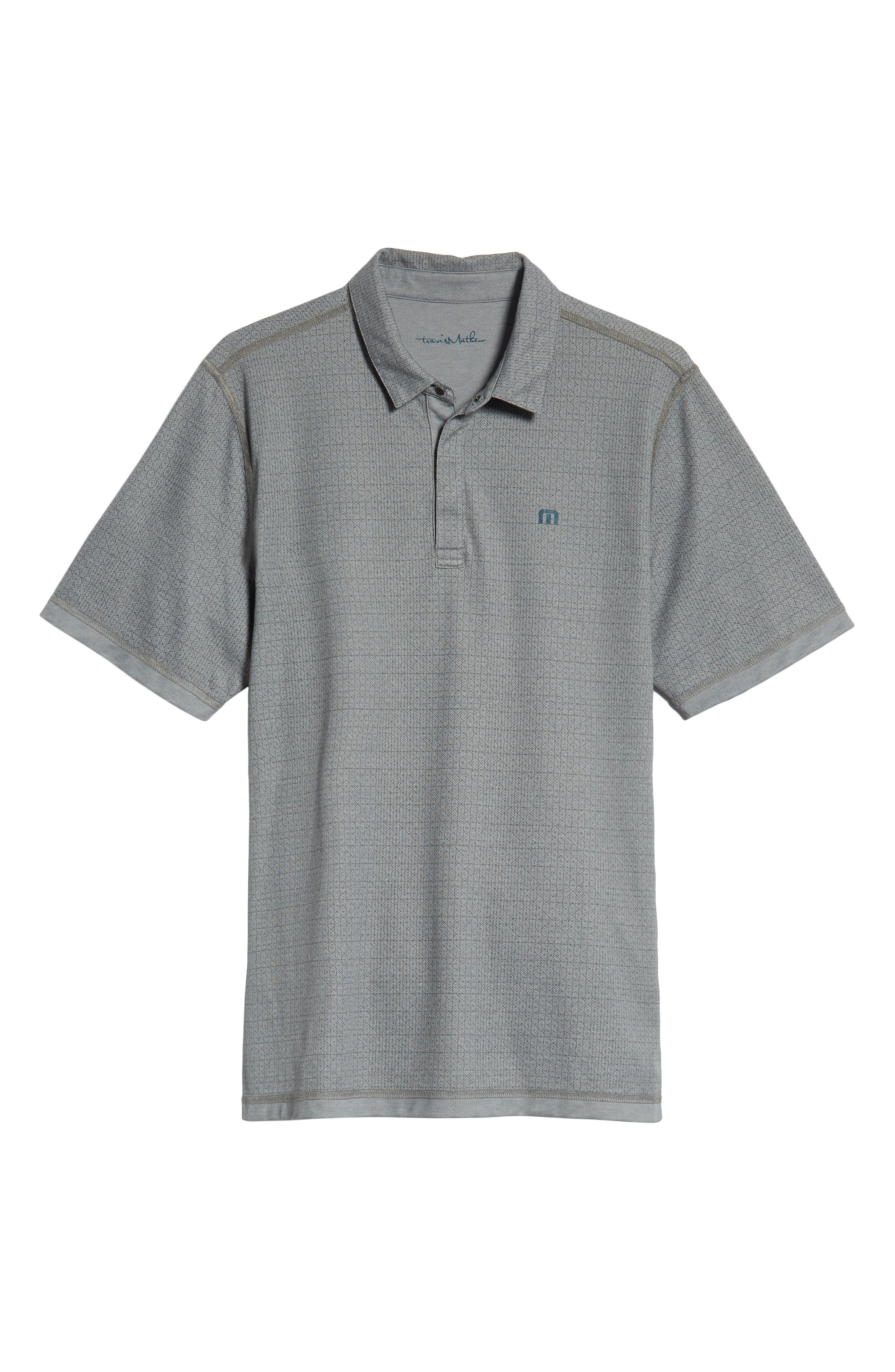 Reverse It Regular Fit Polo,                             Alternate thumbnail 6, color,                             HEATHER QUIET SHADE
