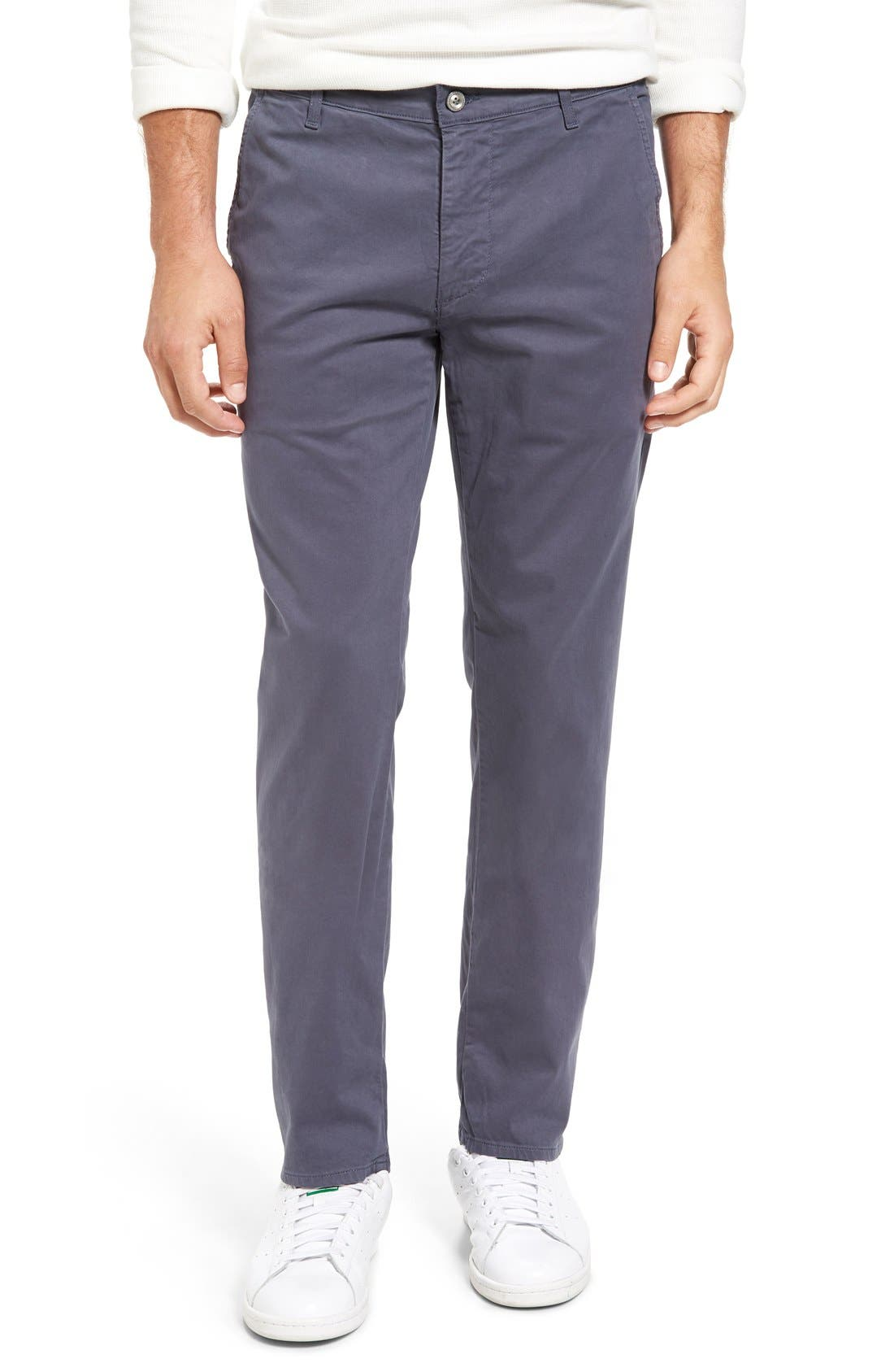 'The Lux' Tailored Straight Leg Chinos,                             Main thumbnail 9, color,