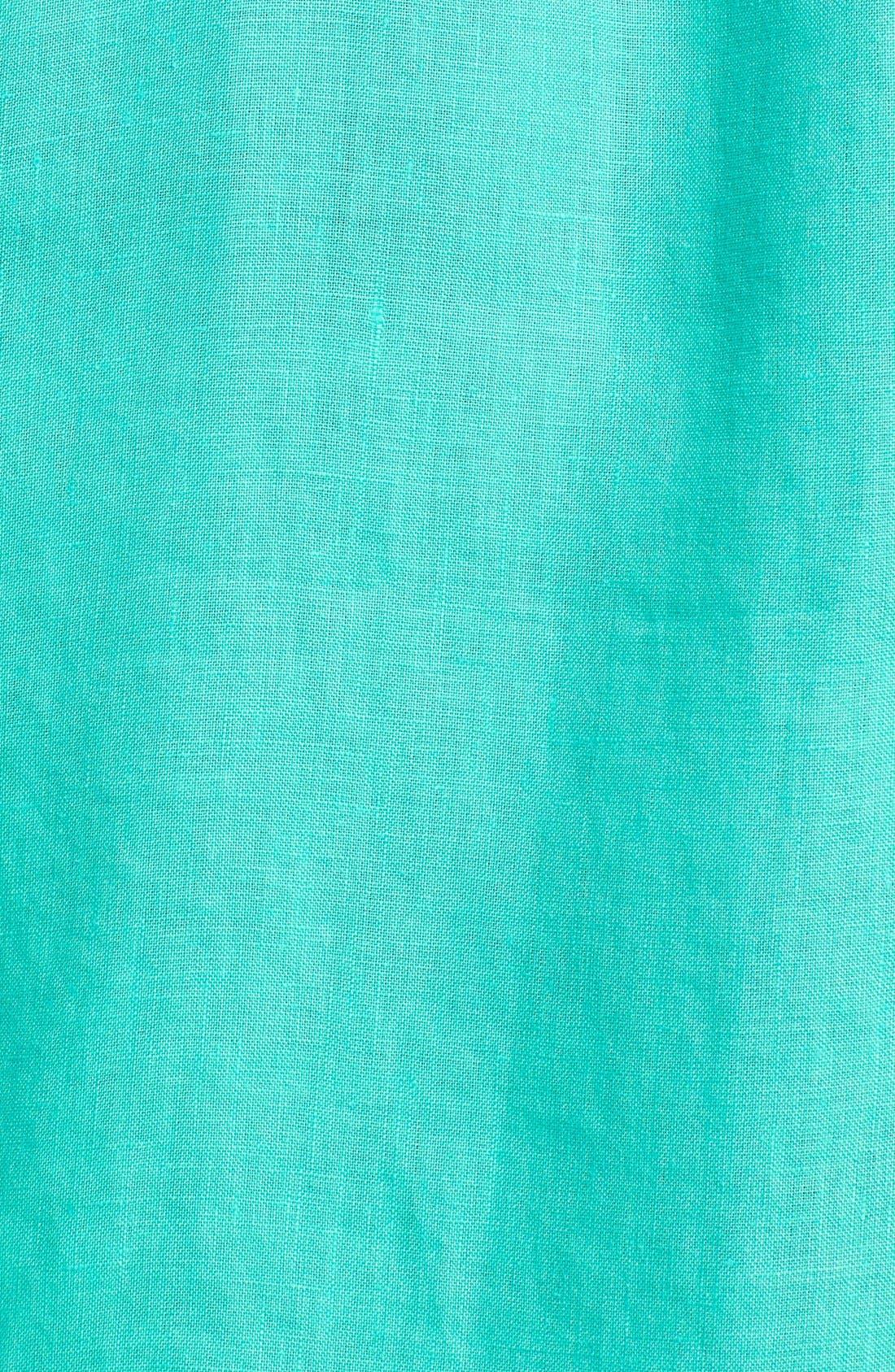 'Caroubier' Linen Shirt,                             Alternate thumbnail 22, color,