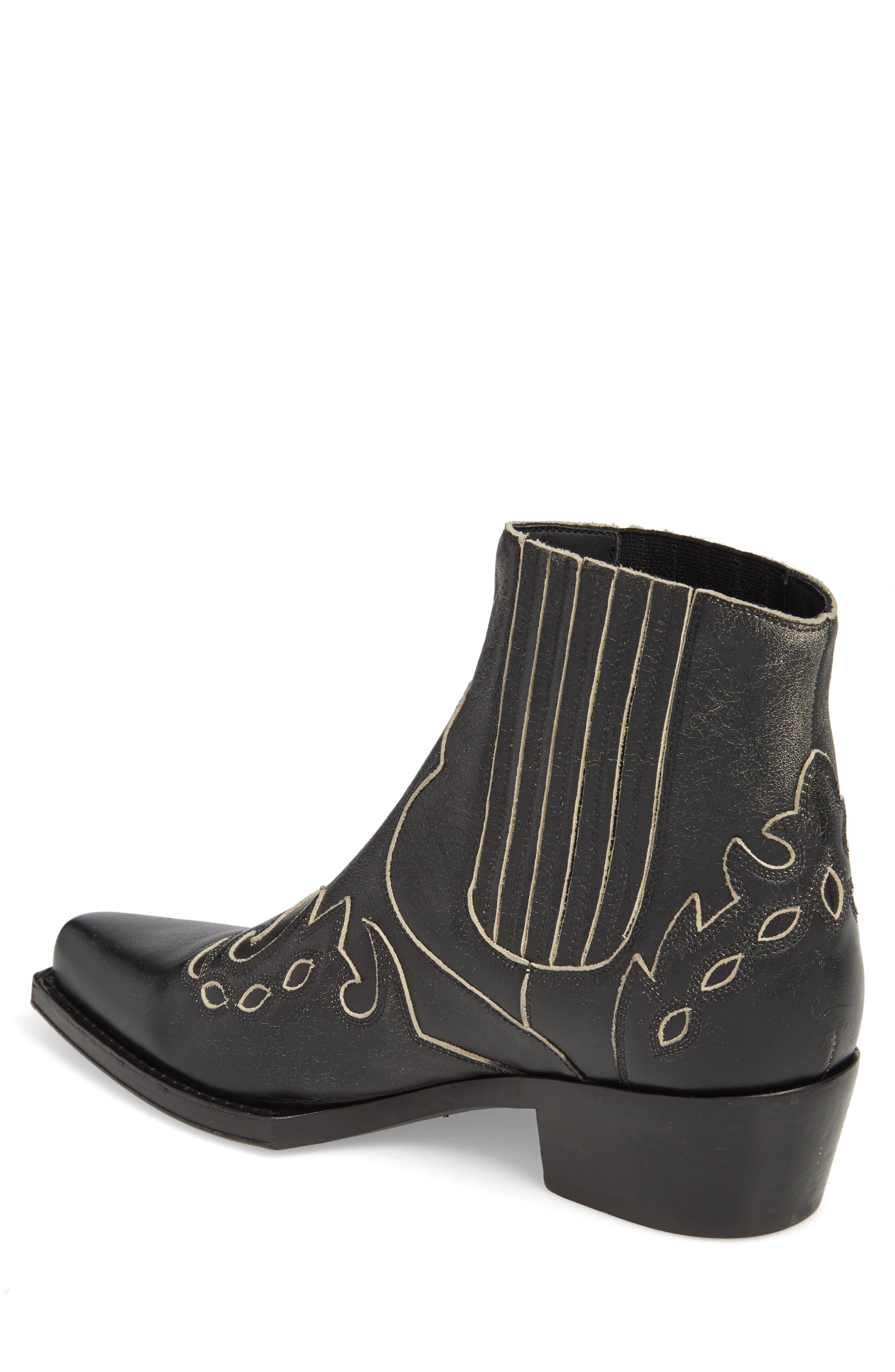 Cal Calvert Cowboy Boot,                             Alternate thumbnail 2, color,                             001