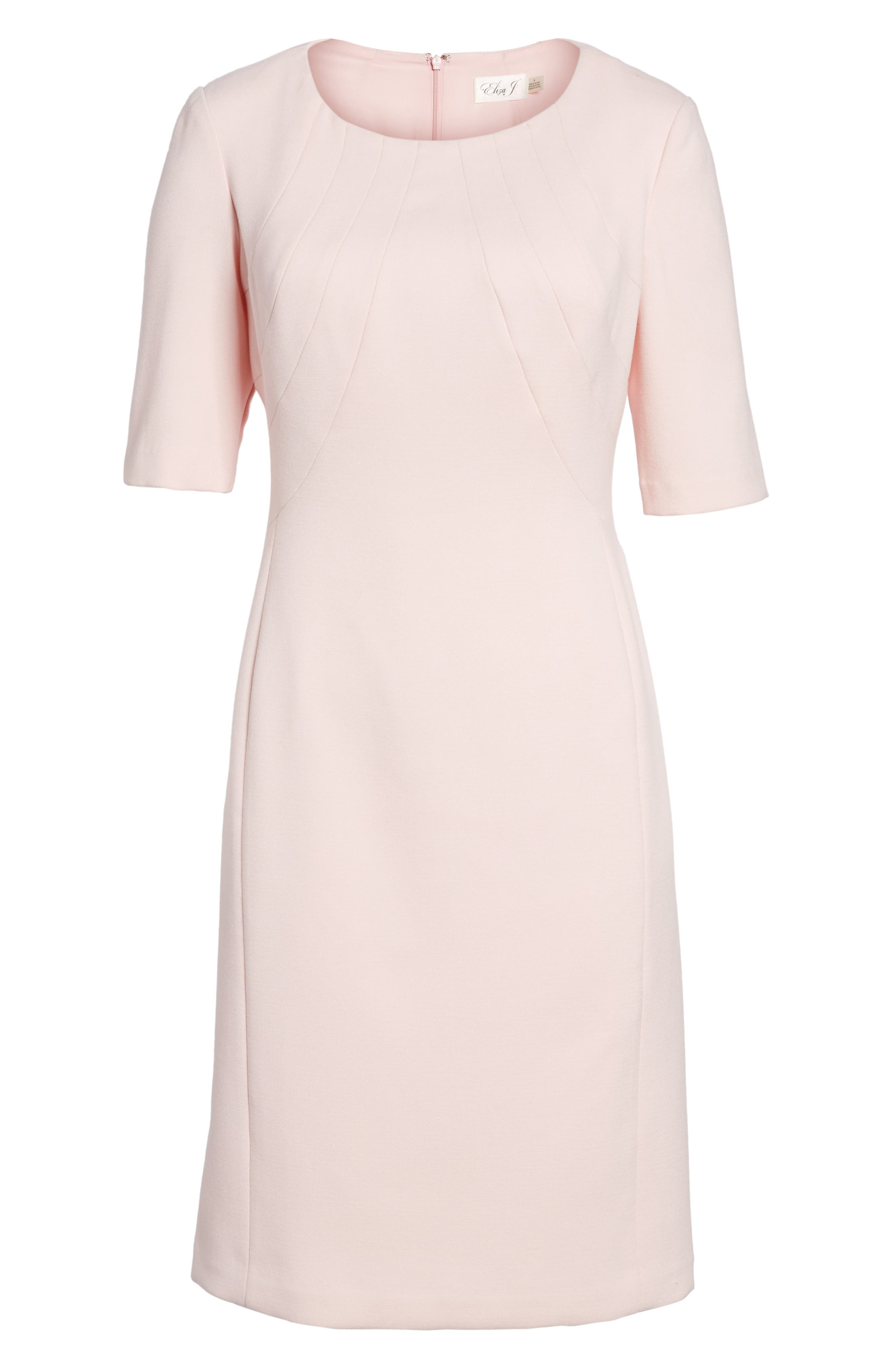 Crepe Sheath Dress,                             Main thumbnail 1, color,                             660