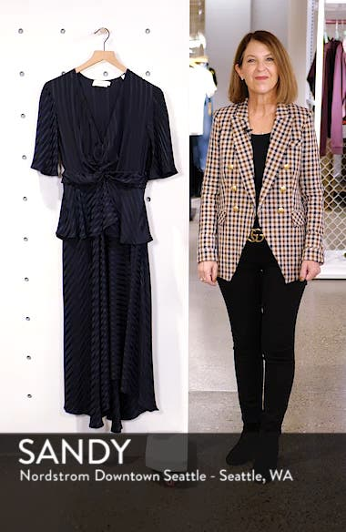Avi Silk Dress, sales video thumbnail