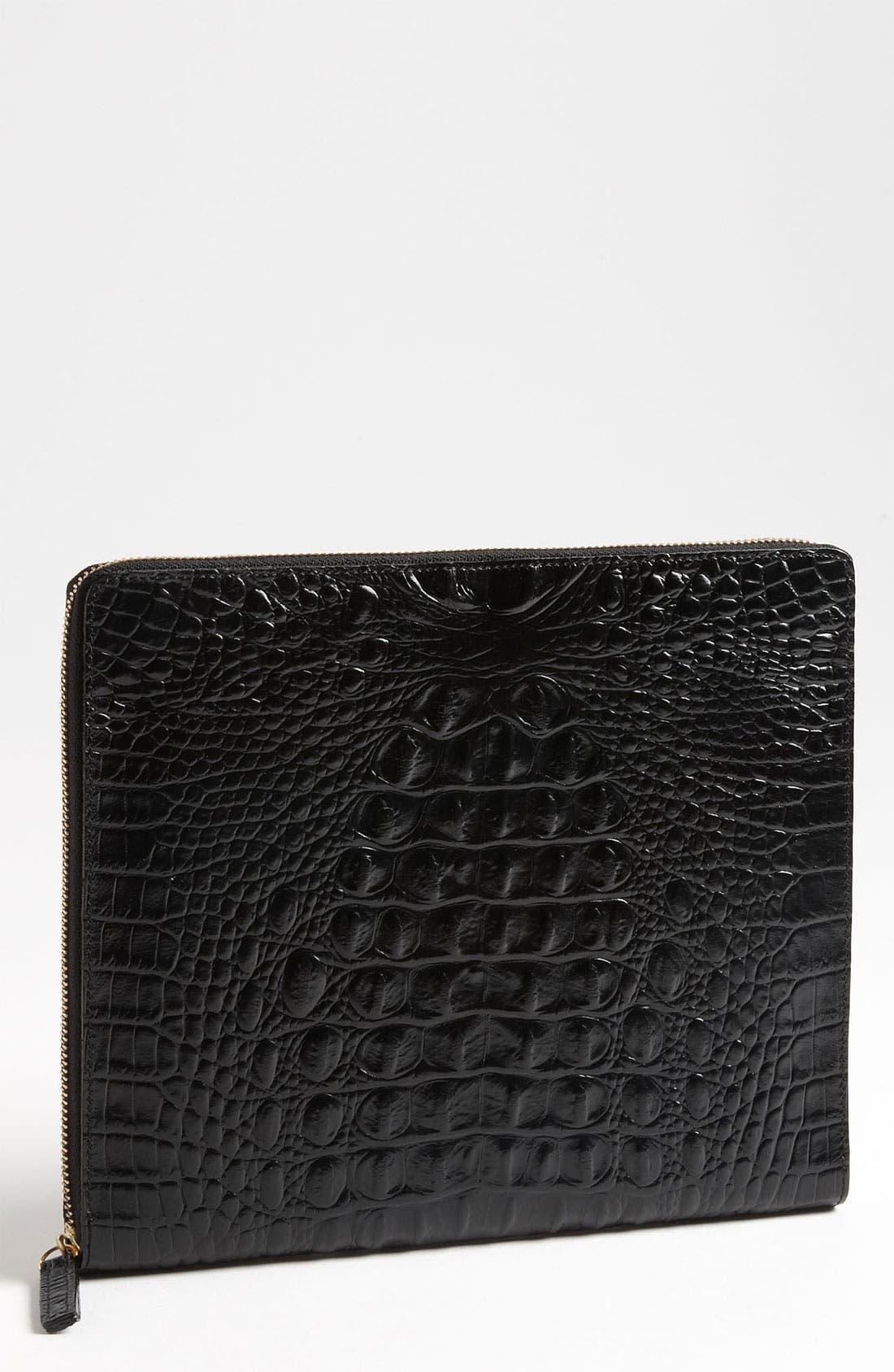 BRAHMIN Tablet Case, Main, color, 001