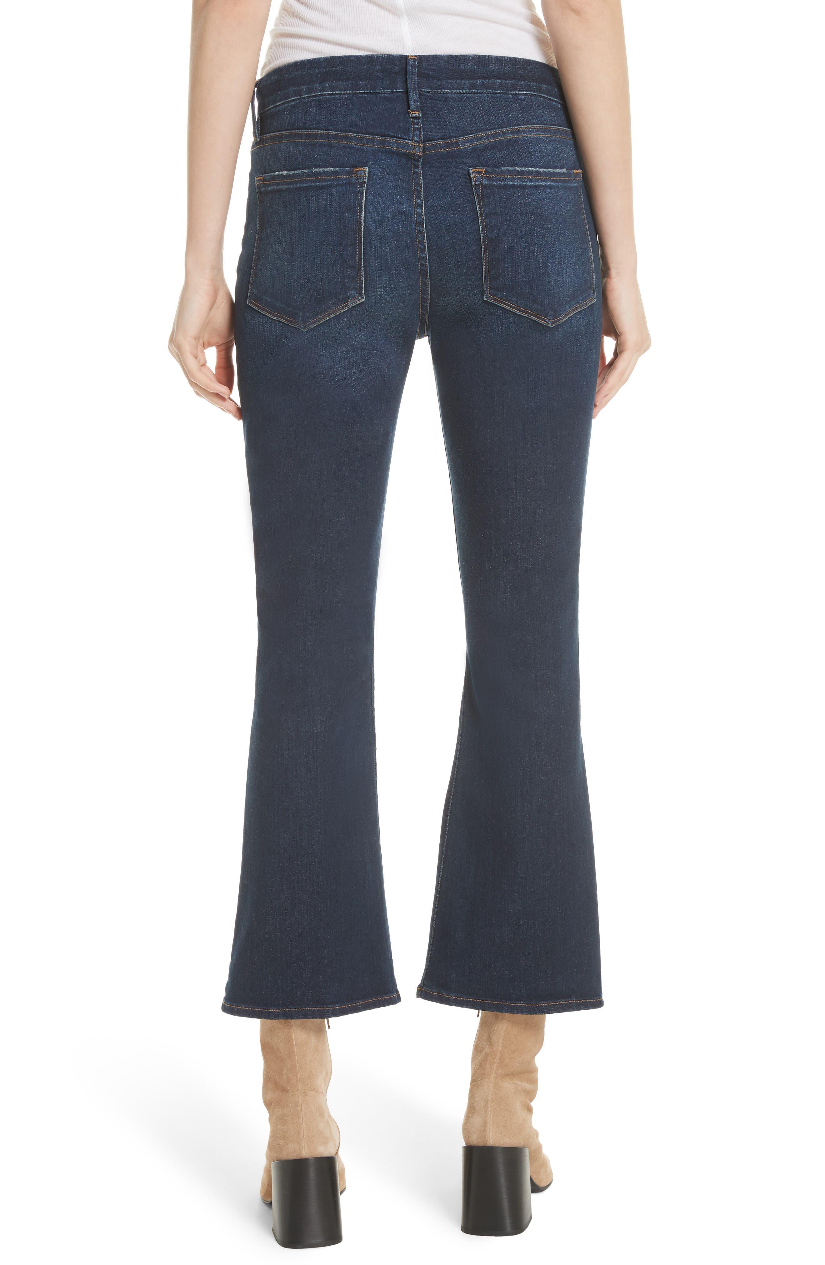 Le Crop Mini Boot Jeans,                             Alternate thumbnail 2, color,                             CREEK HILL