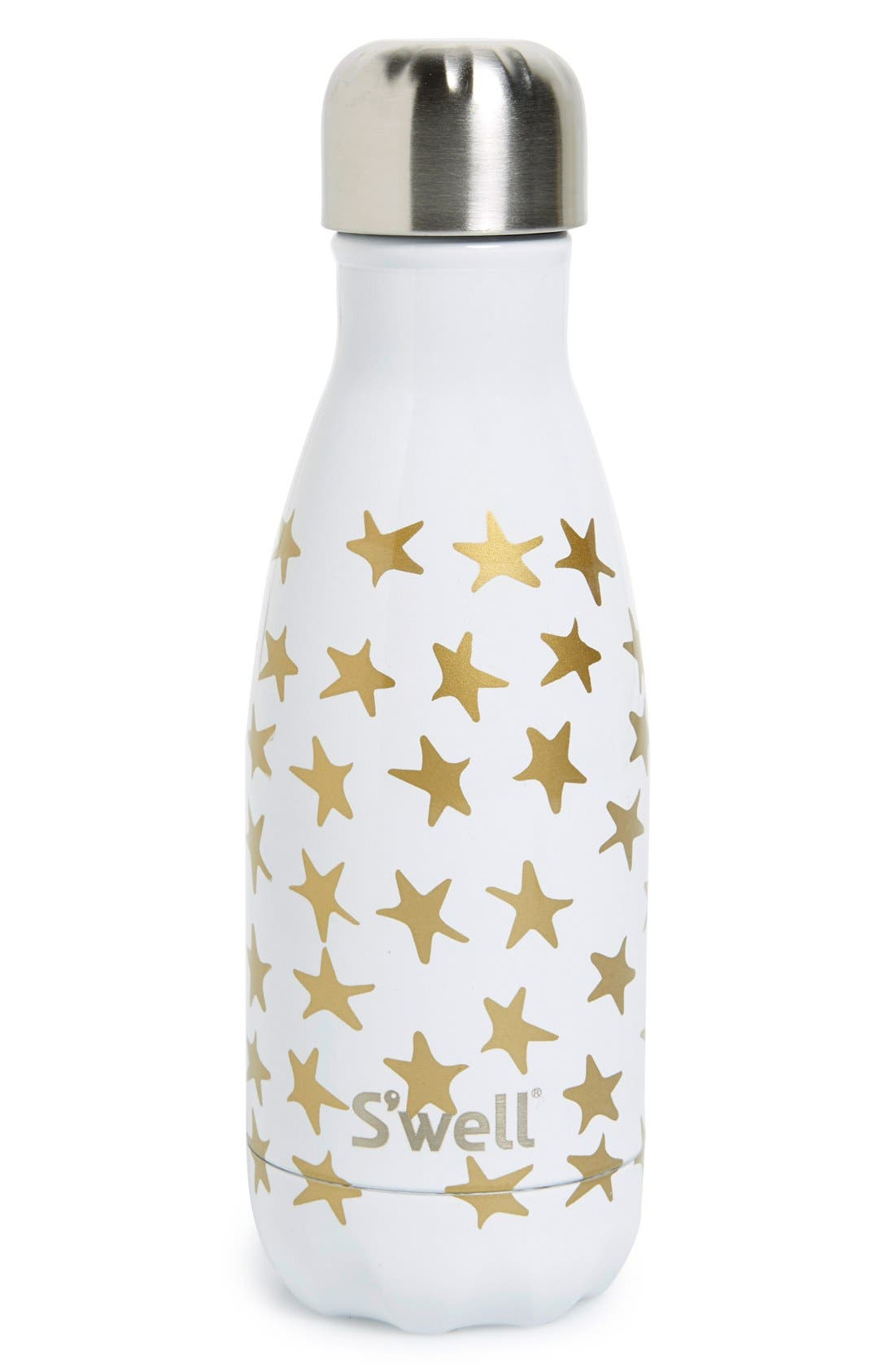 'Galaxy Collection - Star Crossed' Stainless Steel Water Bottle,                             Alternate thumbnail 5, color,                             100