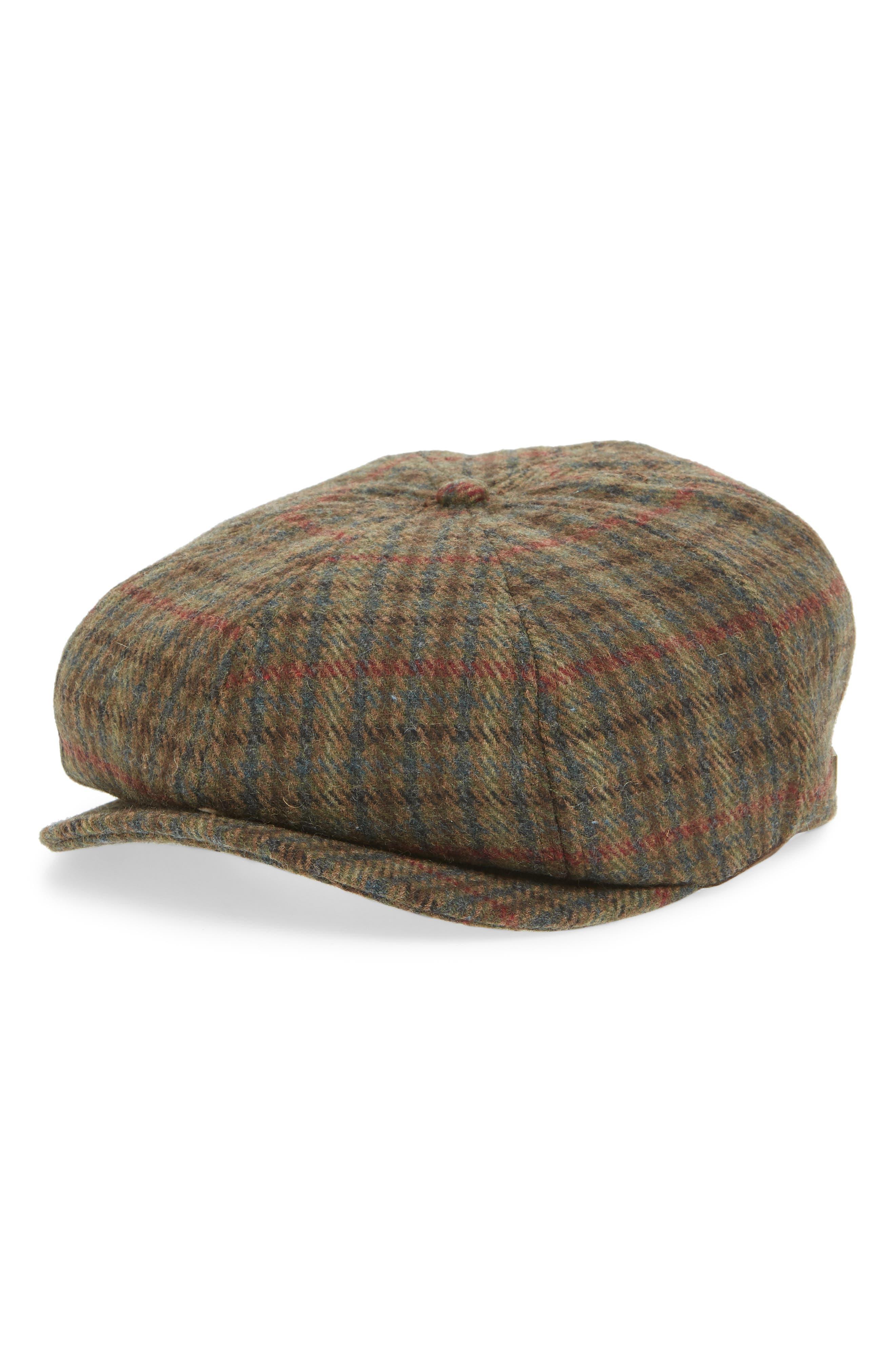 Brood Snap Brim Cap,                         Main,                         color, MOSS/NAVY