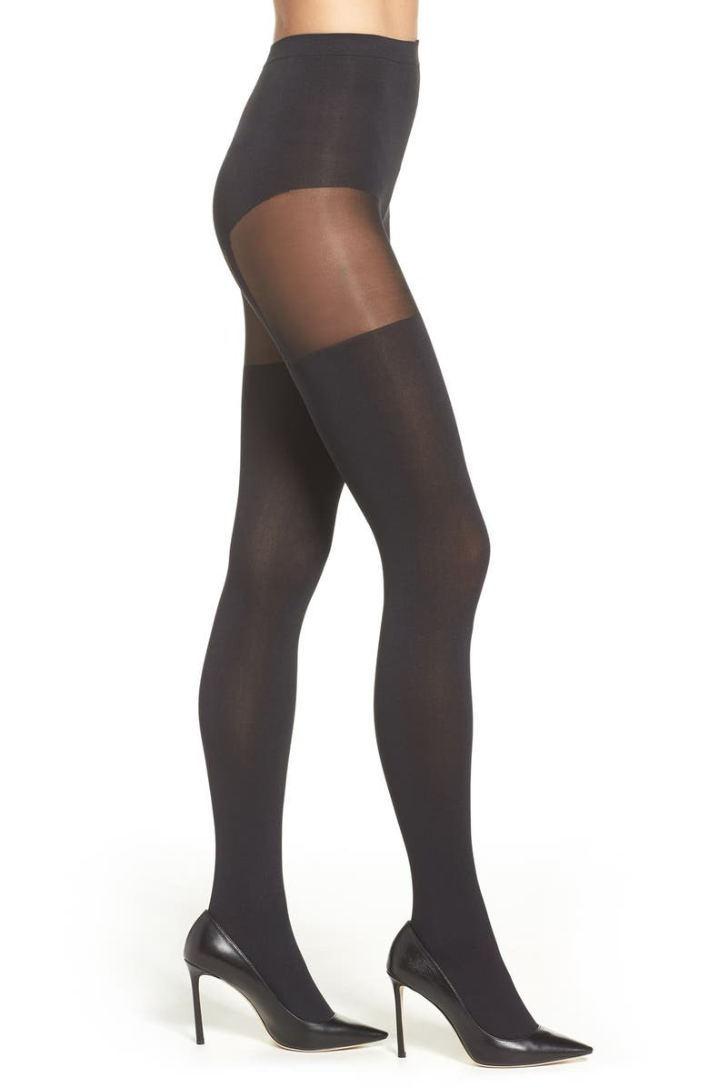 73a5fb5b68c Pretty Polly  Suspended  Tights In Black