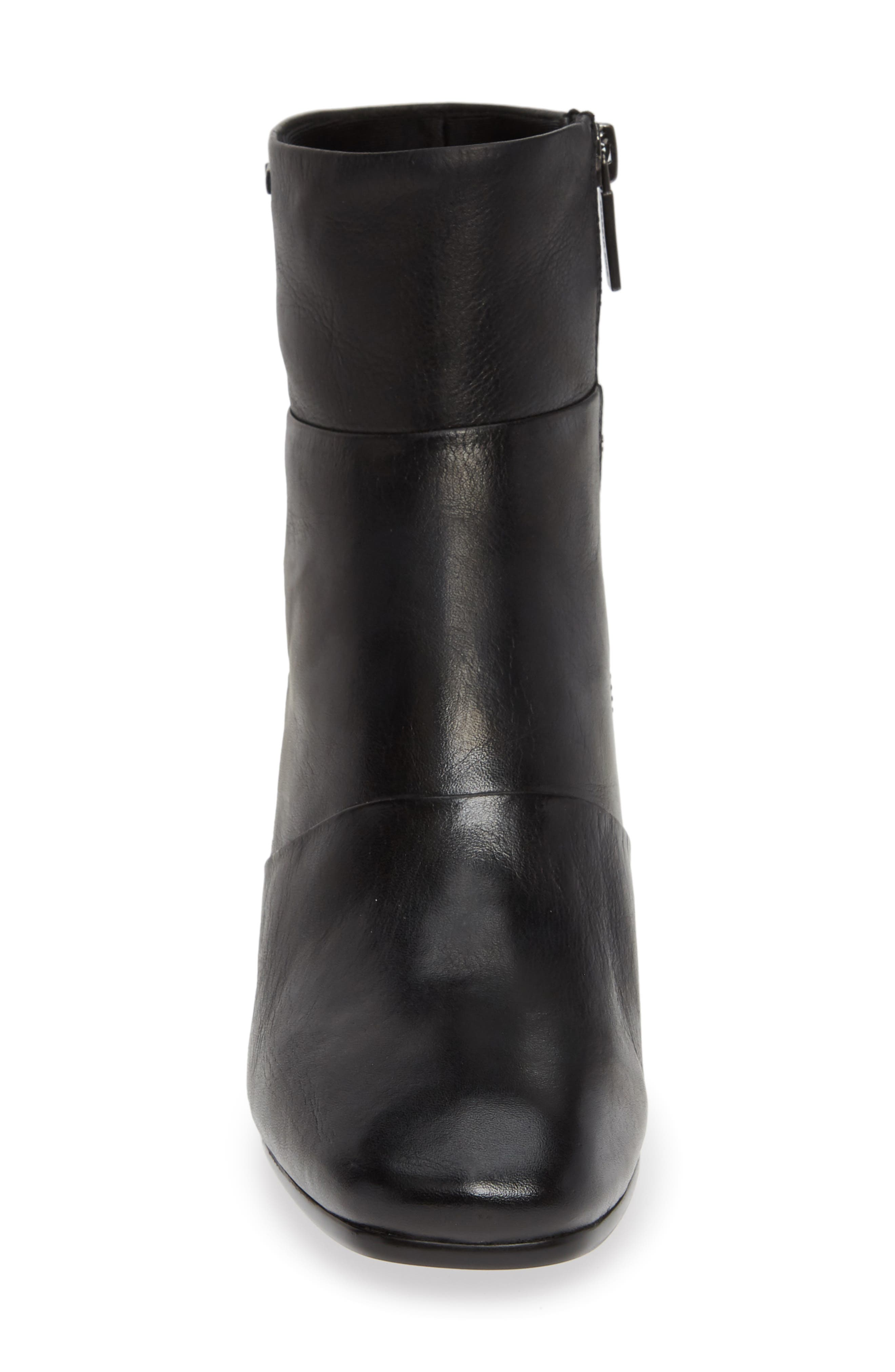 Eryc Bootie,                             Alternate thumbnail 4, color,                             BLACK LEATHER