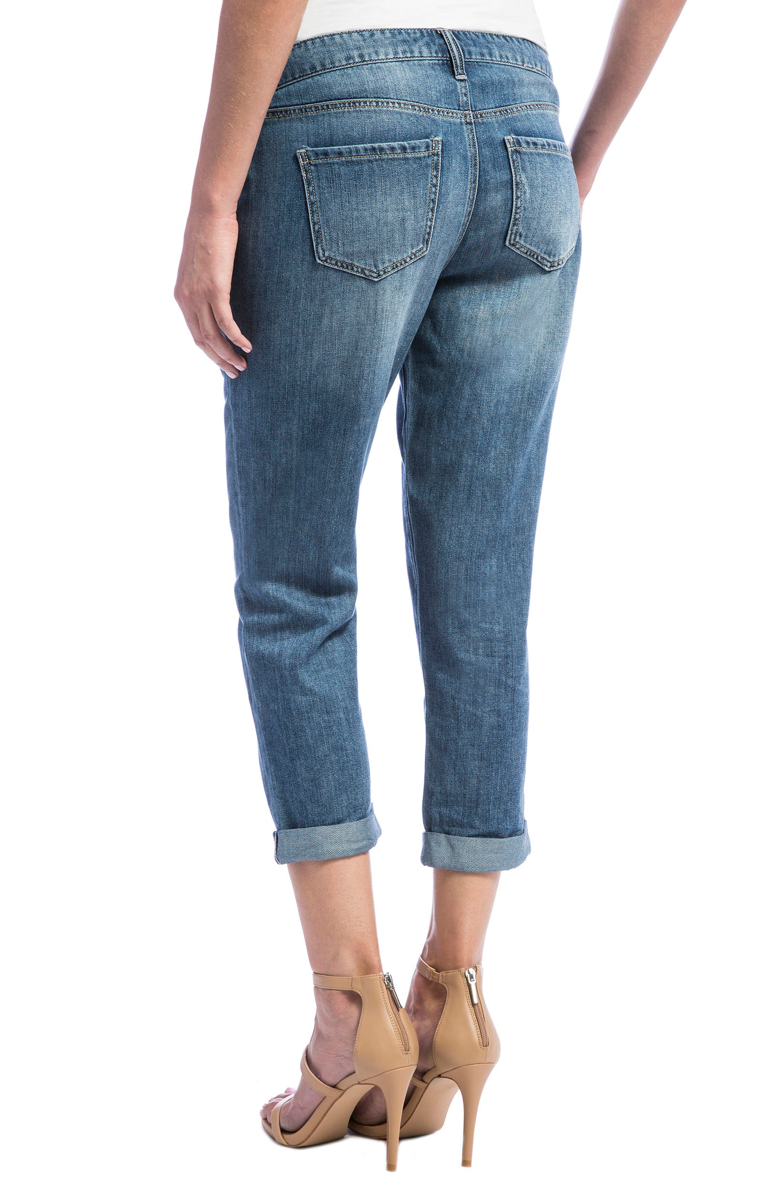 Cameron Crop Boyfriend Jeans,                             Alternate thumbnail 10, color,