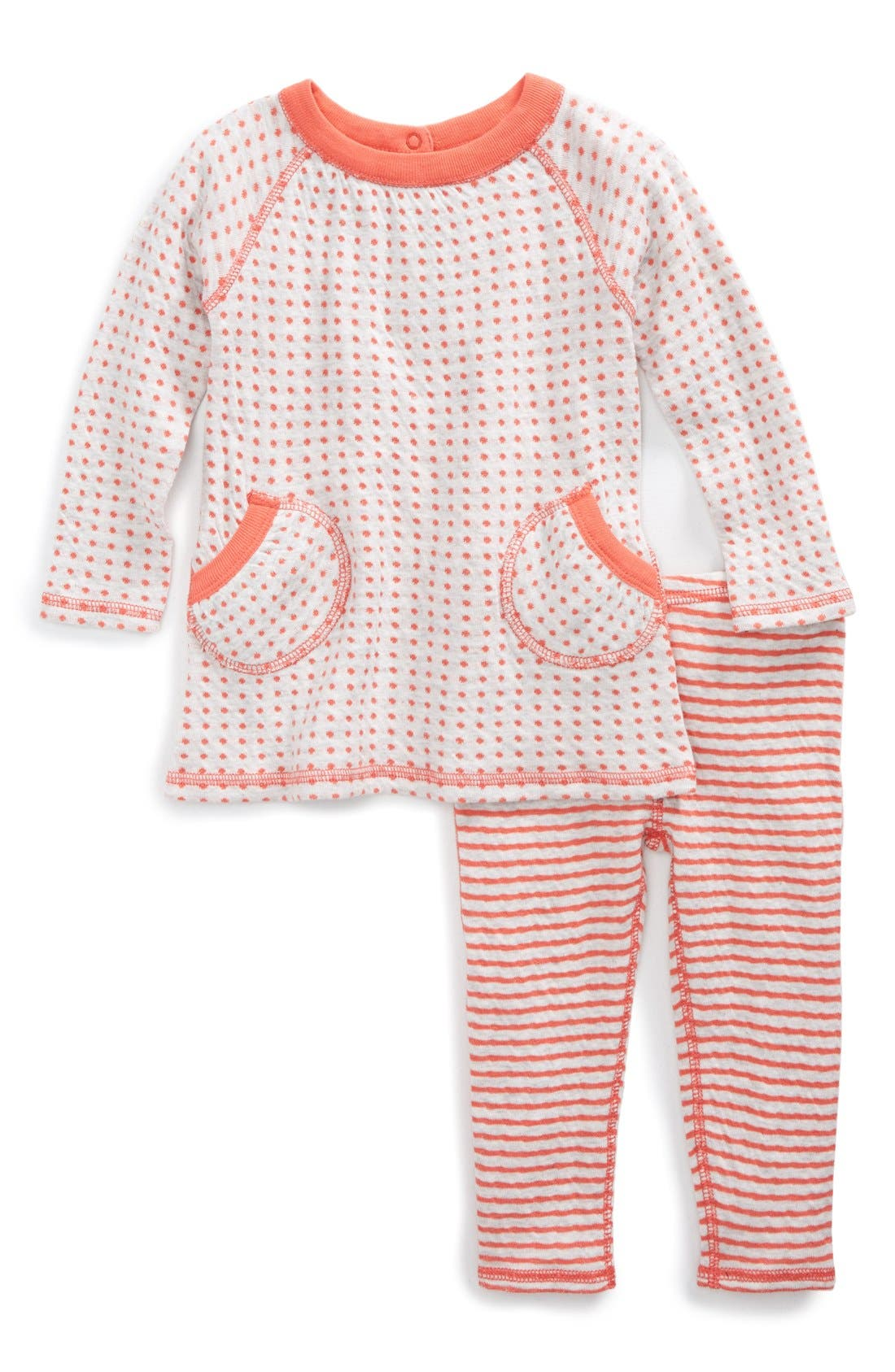 Organic Cotton Reversible Tunic & Pants, Main, color, 050