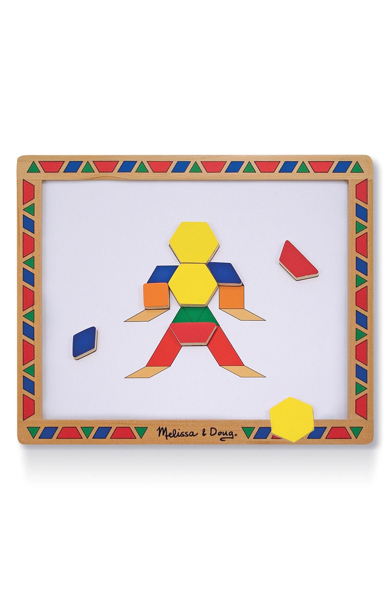 Magnetic Pattern Block Kit,                             Alternate thumbnail 2, color,                             200