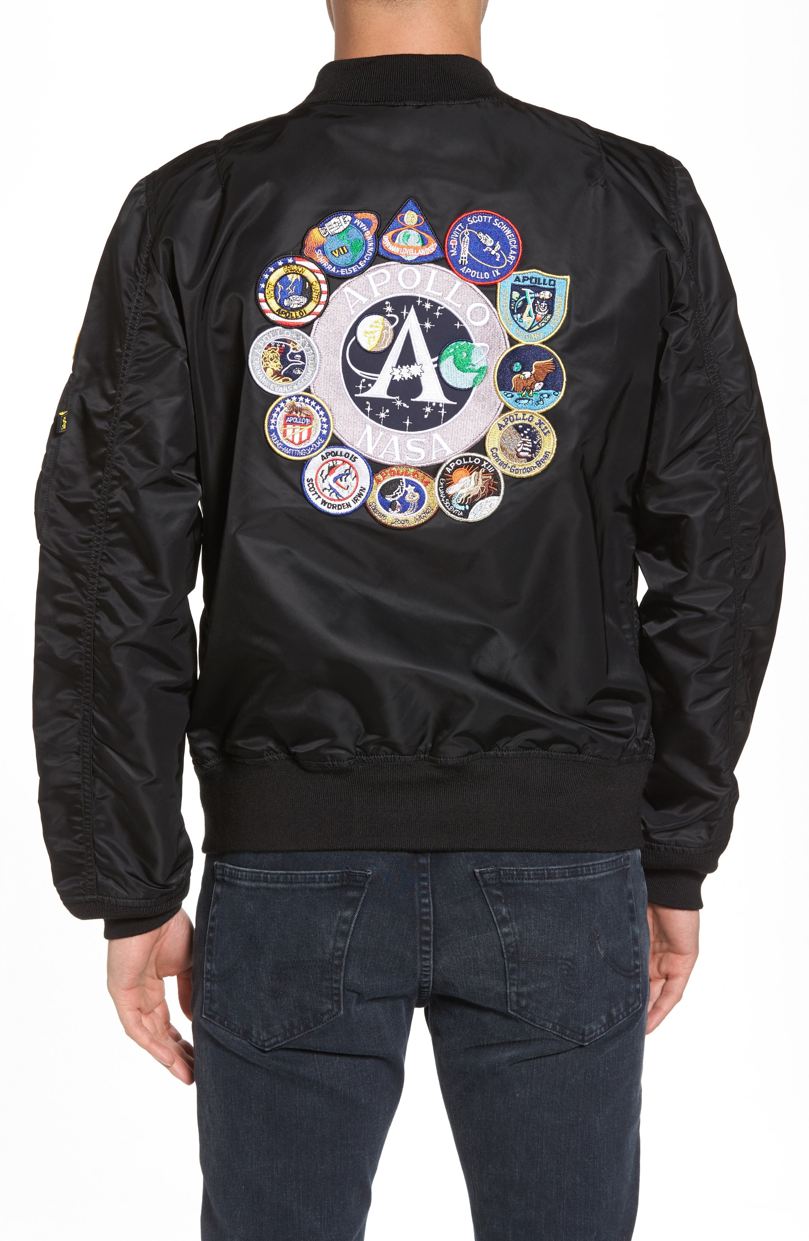 L-2B Apollo Bomber Jacket,                             Alternate thumbnail 2, color,