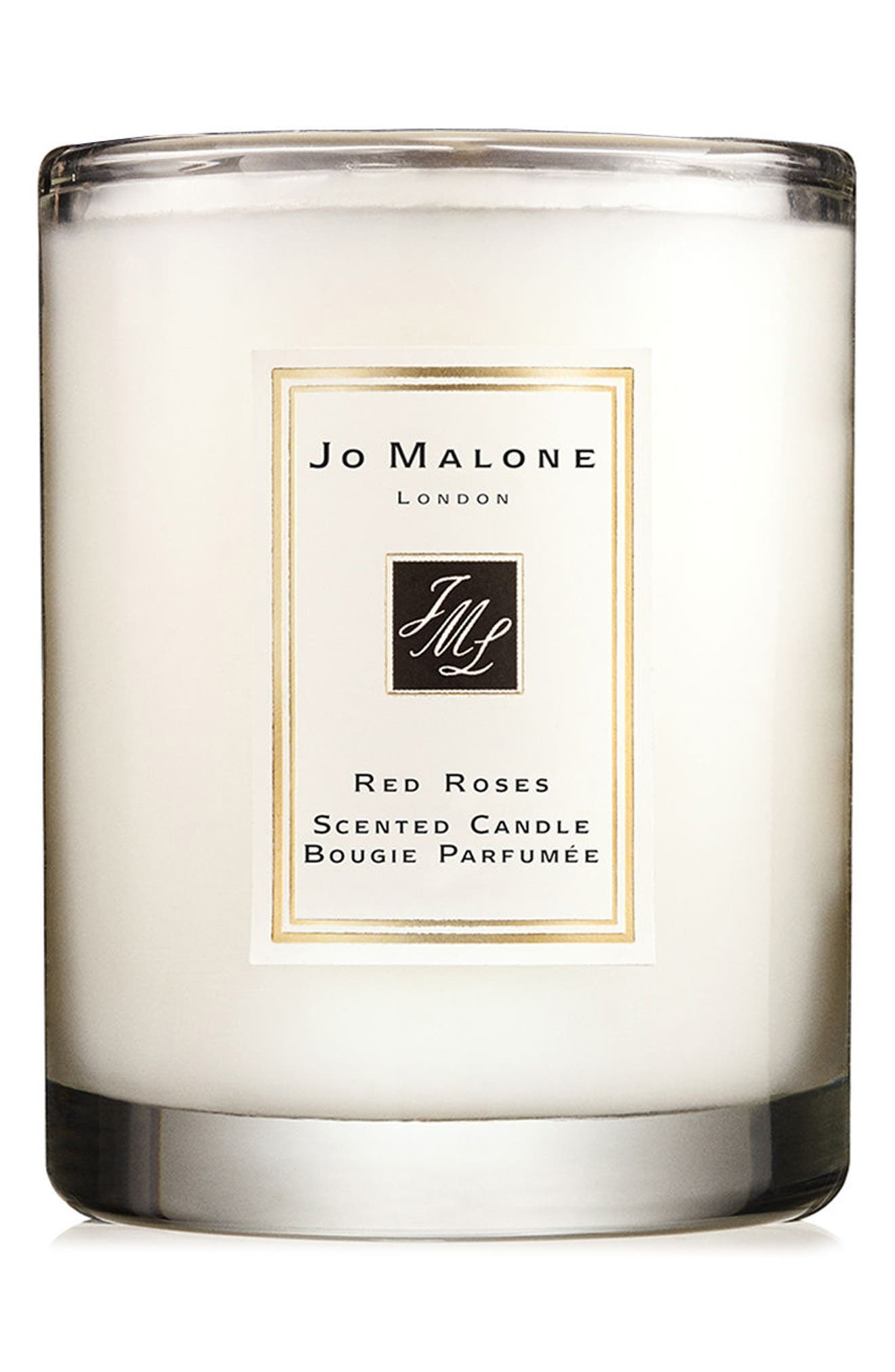 Jo Malone<sup>™</sup> Red Roses Travel Candle,                             Main thumbnail 1, color,                             000