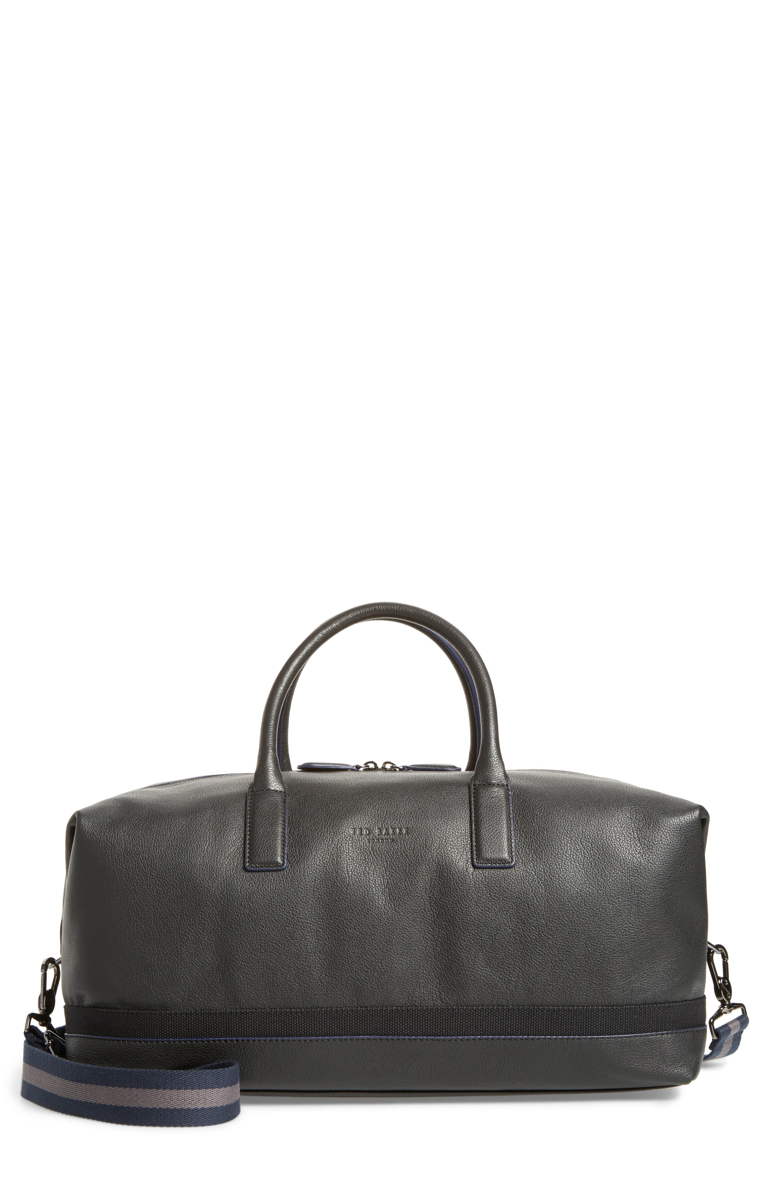 Mylow Duffel Bag,                         Main,                         color, BLACK