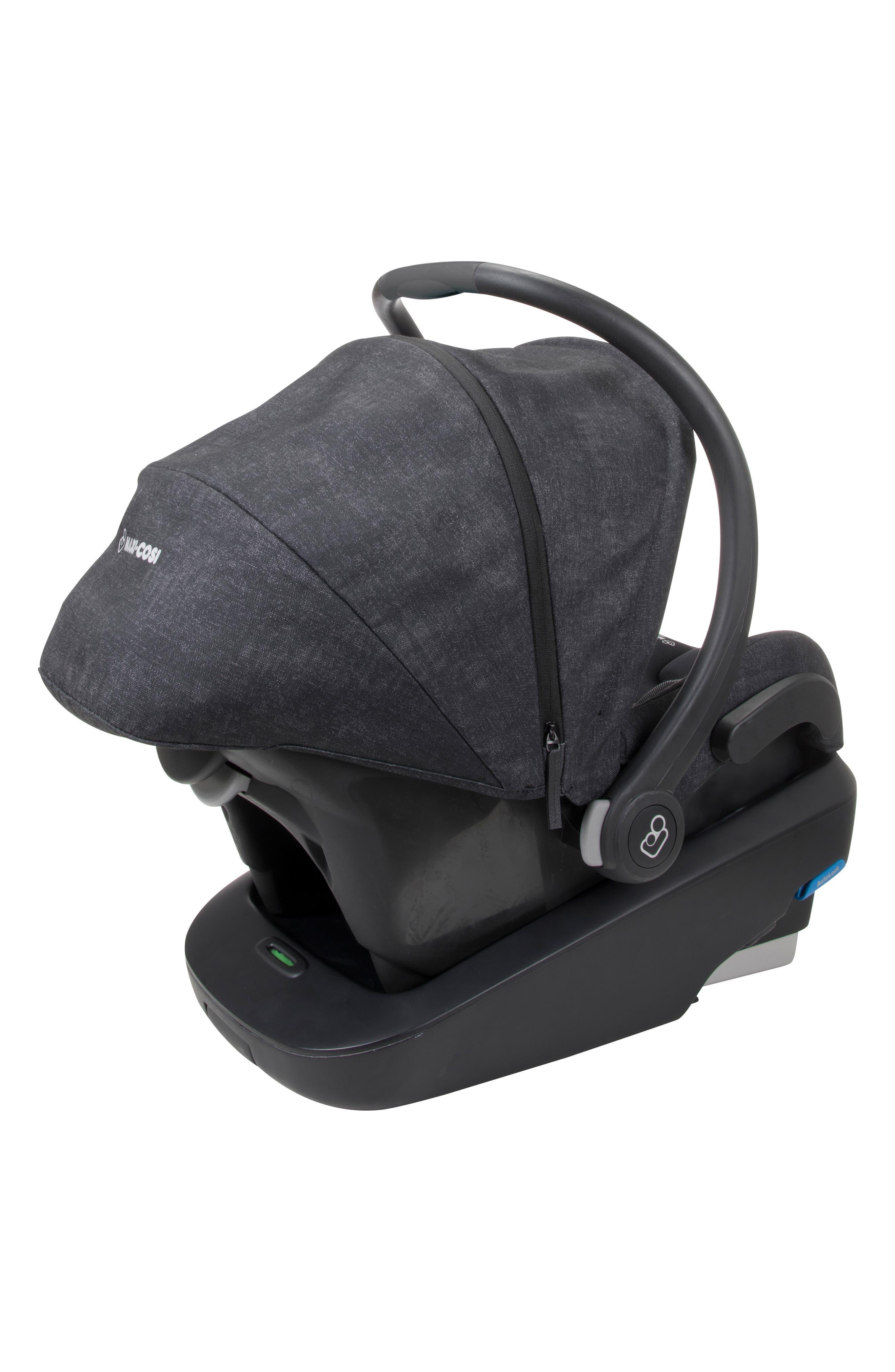 Mico Max Plus Infant Car Seat,                             Alternate thumbnail 2, color,                             NOMAD BLACK