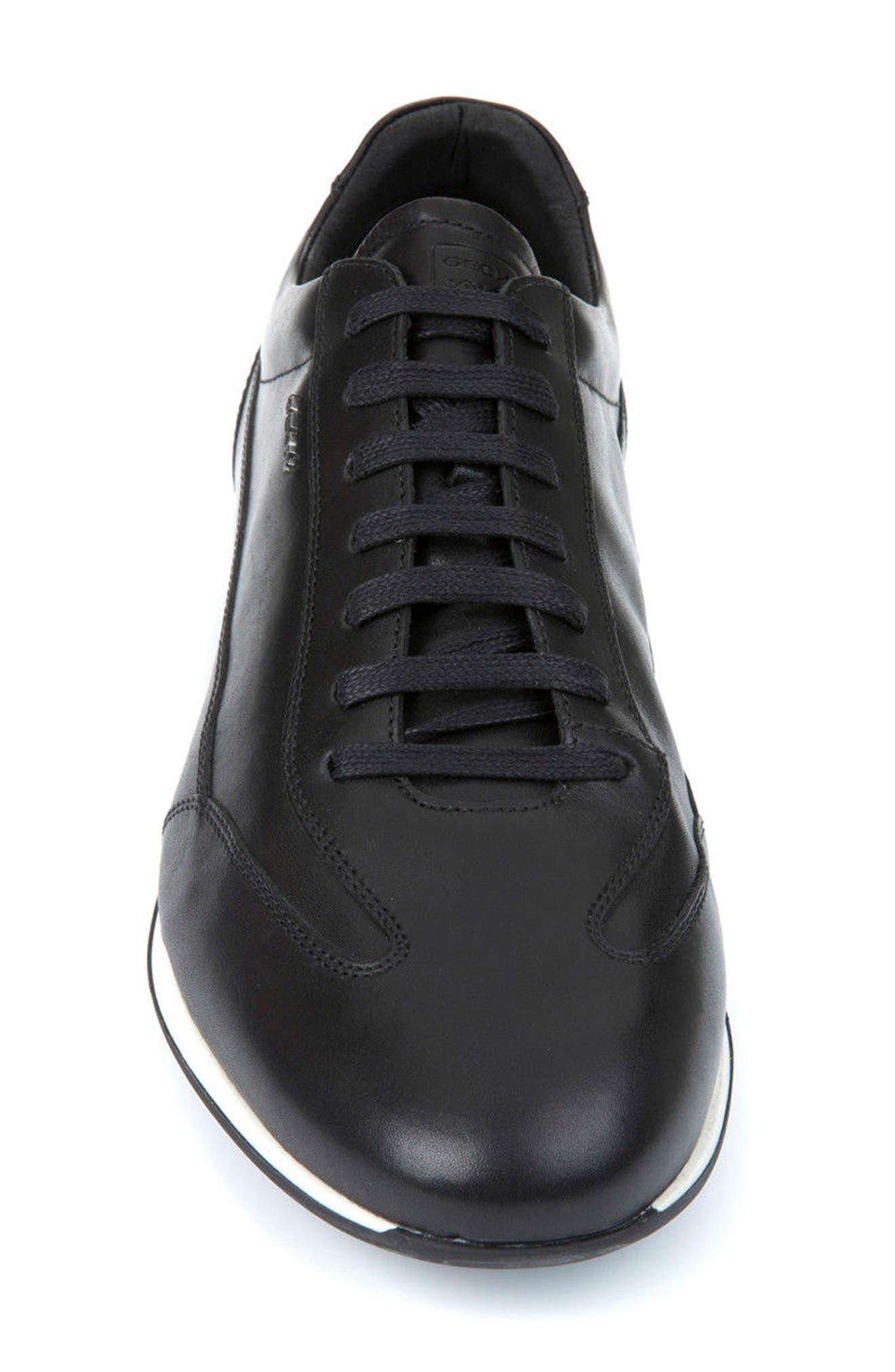 Clemet 1 Sneaker,                             Alternate thumbnail 4, color,                             001