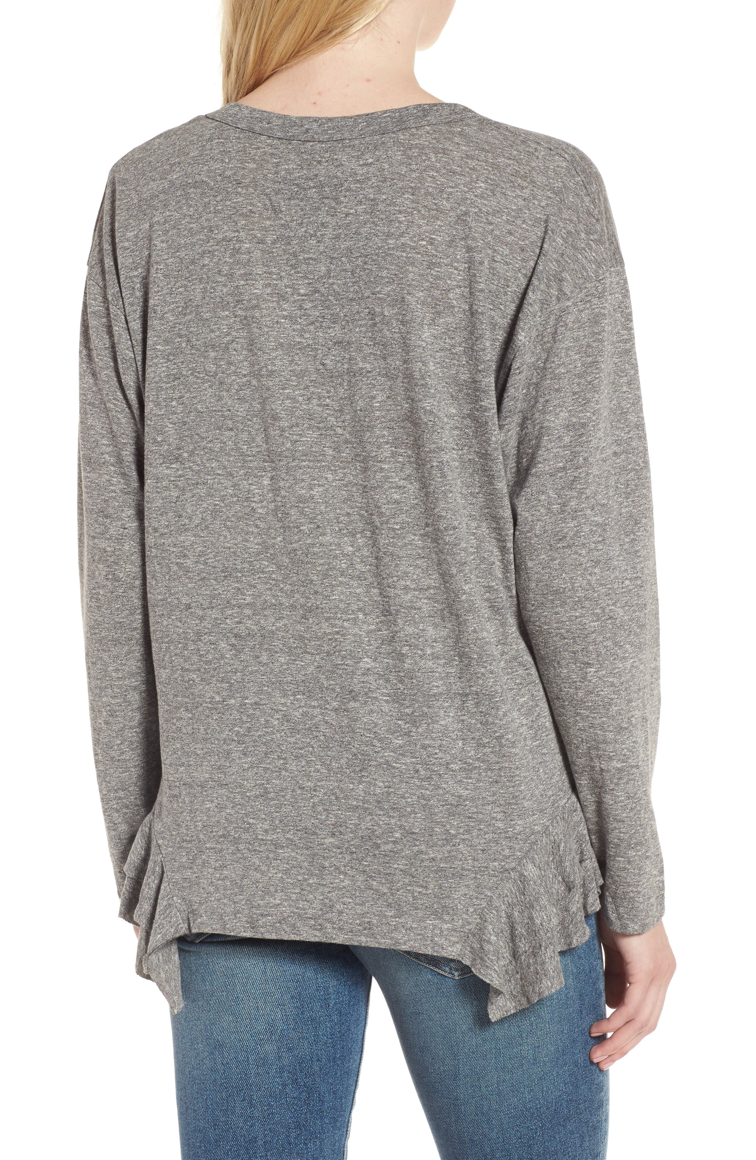 The Tier Long Sleeve Tee,                             Alternate thumbnail 2, color,                             034
