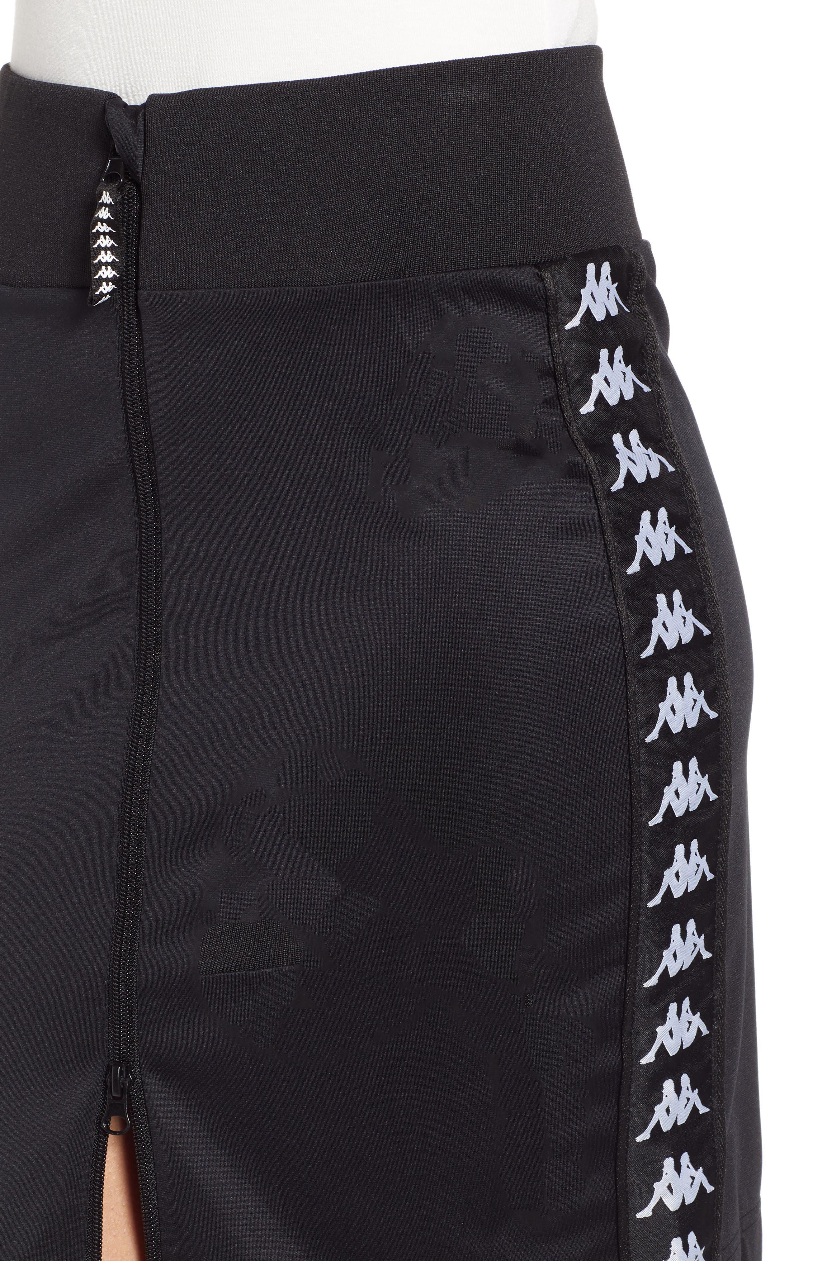 Slim Classic Skirt,                             Alternate thumbnail 4, color,                             001