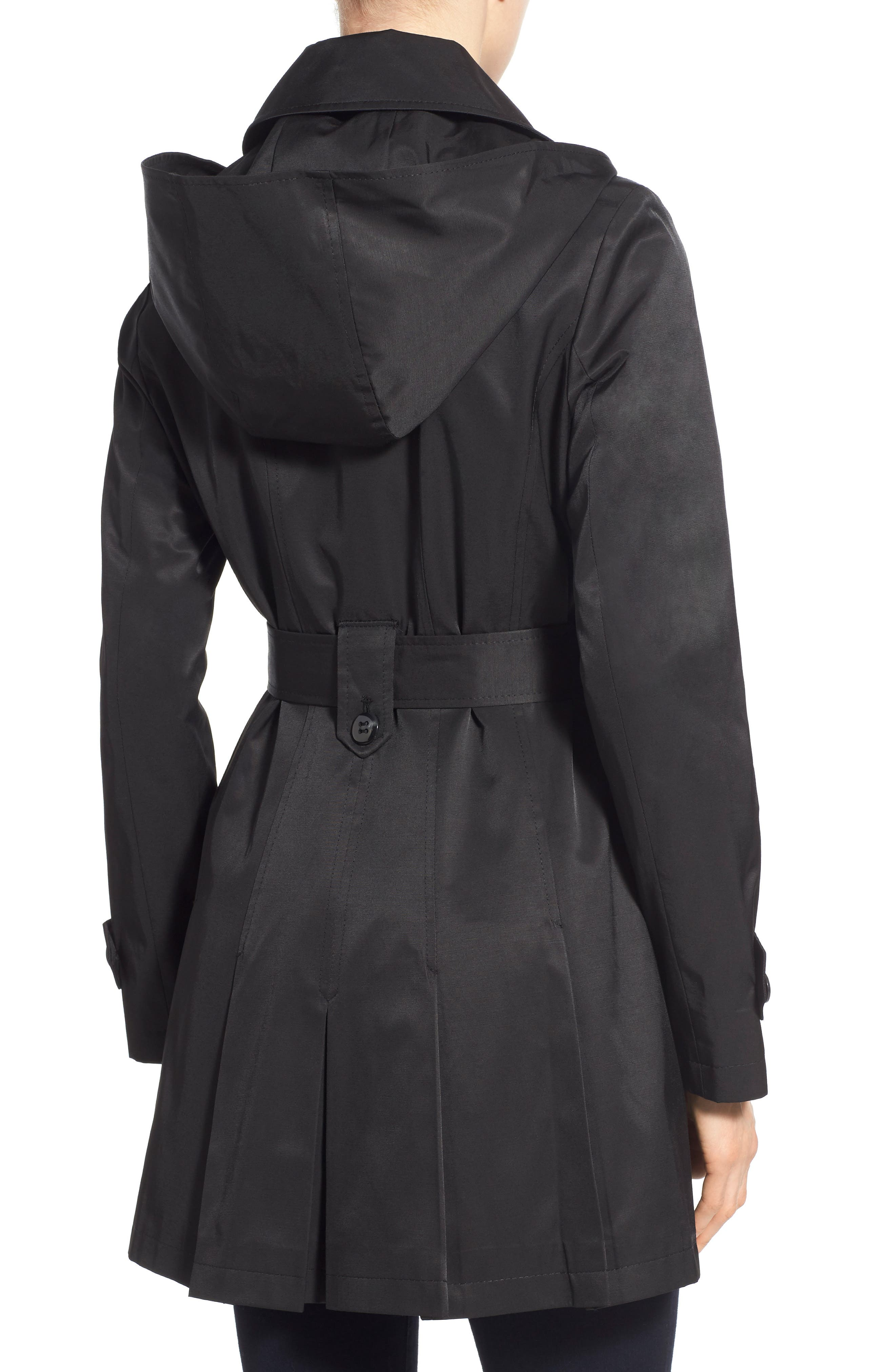 'Scarpa' Hooded Single Breasted Trench Coat,                             Alternate thumbnail 19, color,