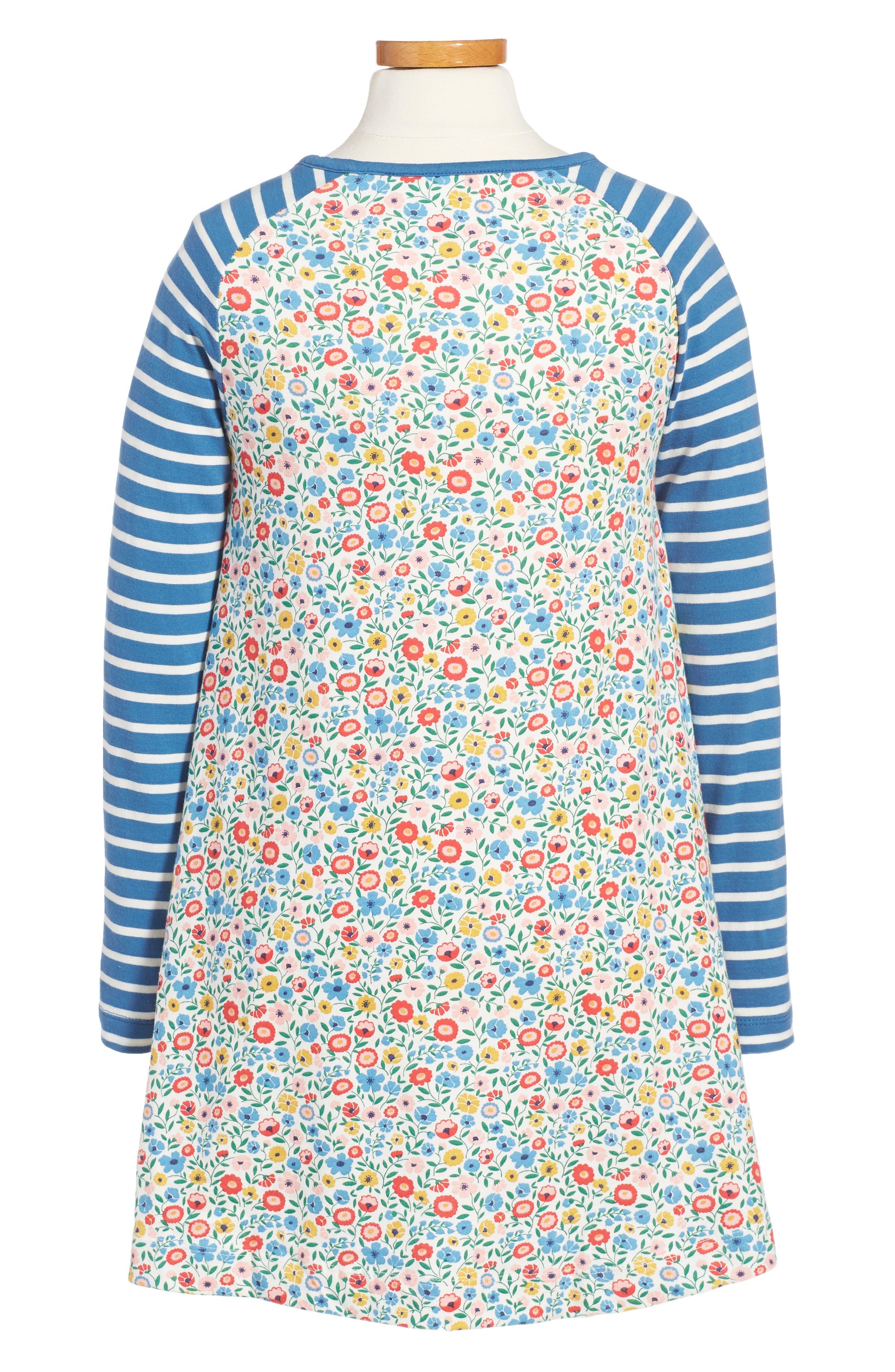 Jersey Swing Dress,                             Alternate thumbnail 2, color,                             902