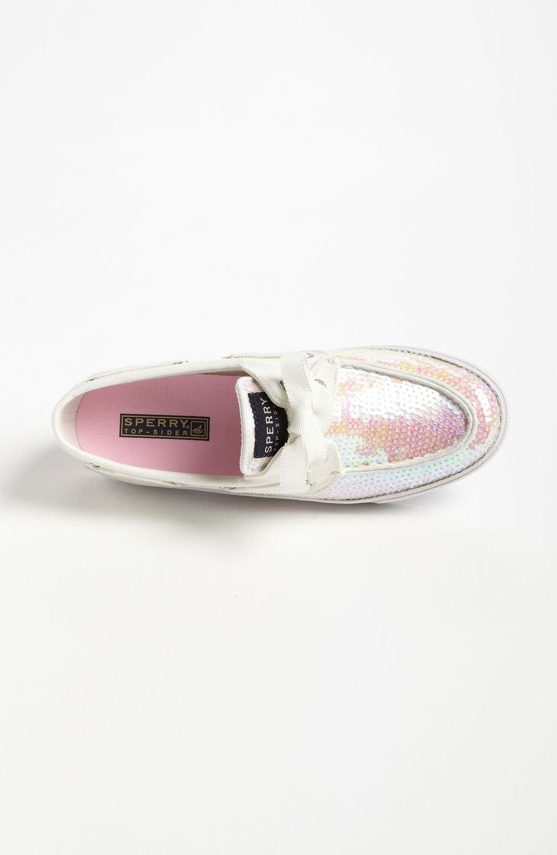 Top-Sider<sup>®</sup> 'Bahama' Sequined Boat Shoe,                             Alternate thumbnail 137, color,