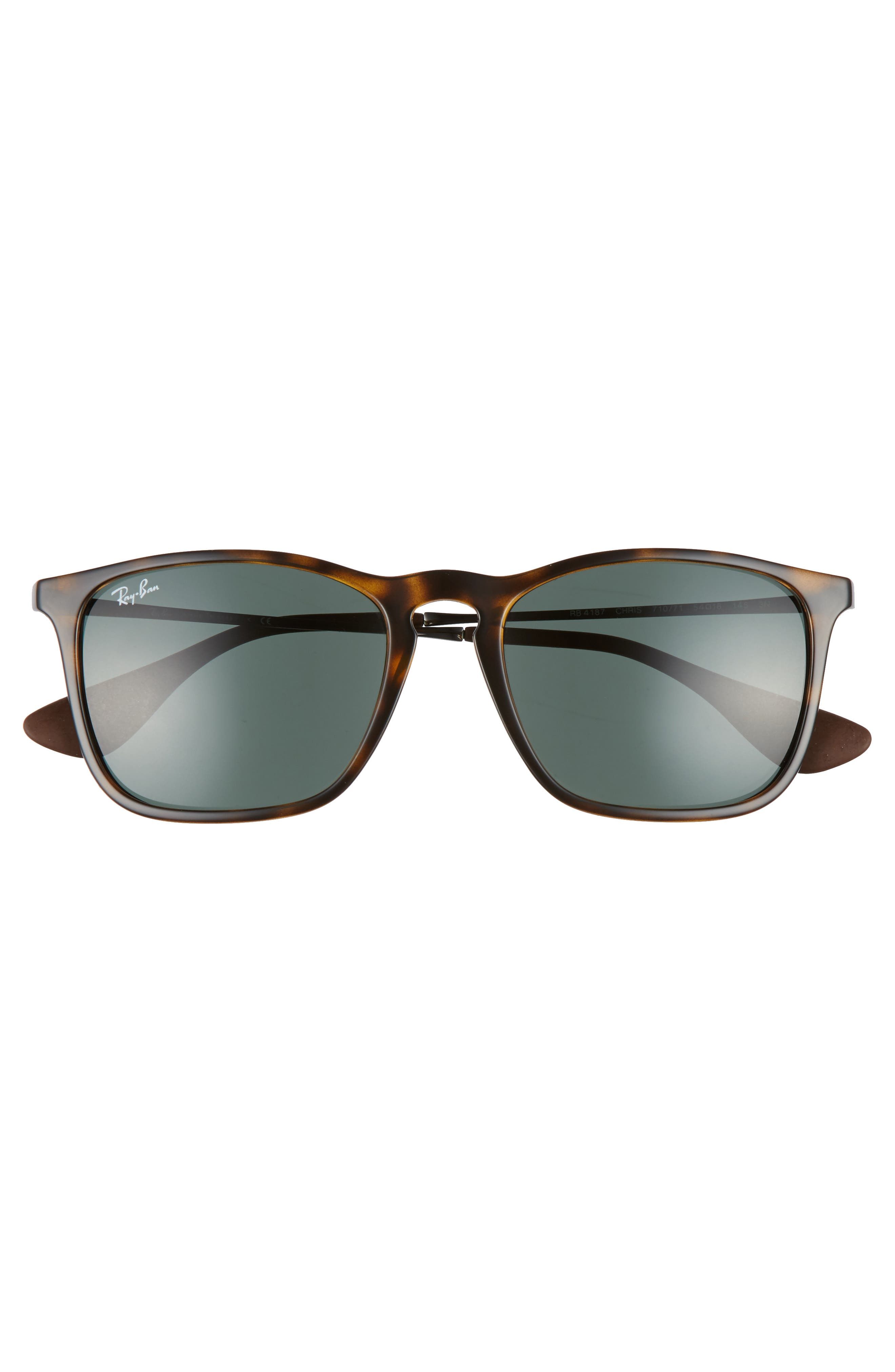 54mm Sunglasses,                             Alternate thumbnail 2, color,                             LIGHT HAVANA