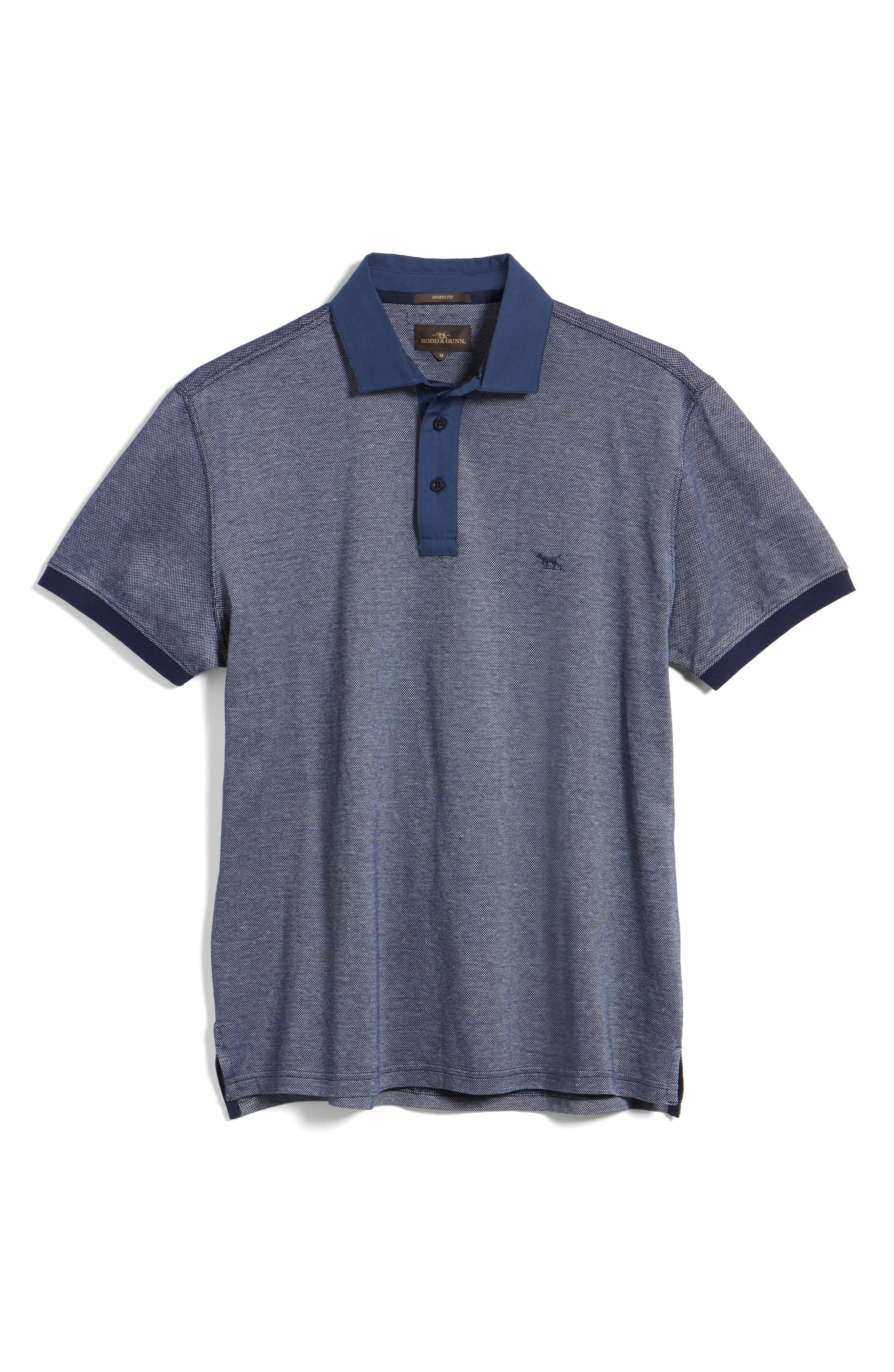 Fisher Parade Sports Fit Polo,                             Alternate thumbnail 6, color,                             410