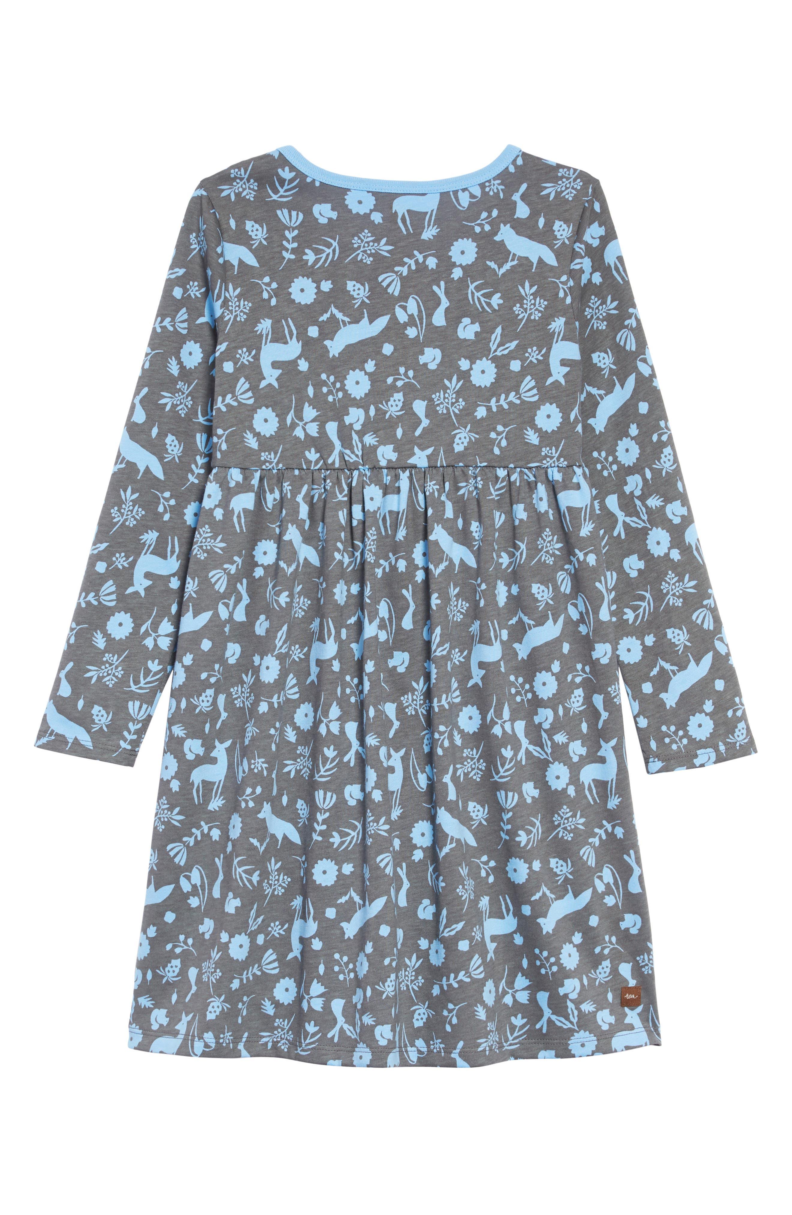 Sparkle Henley Dress,                             Alternate thumbnail 2, color,                             DESERT FLORA AND FAUNA