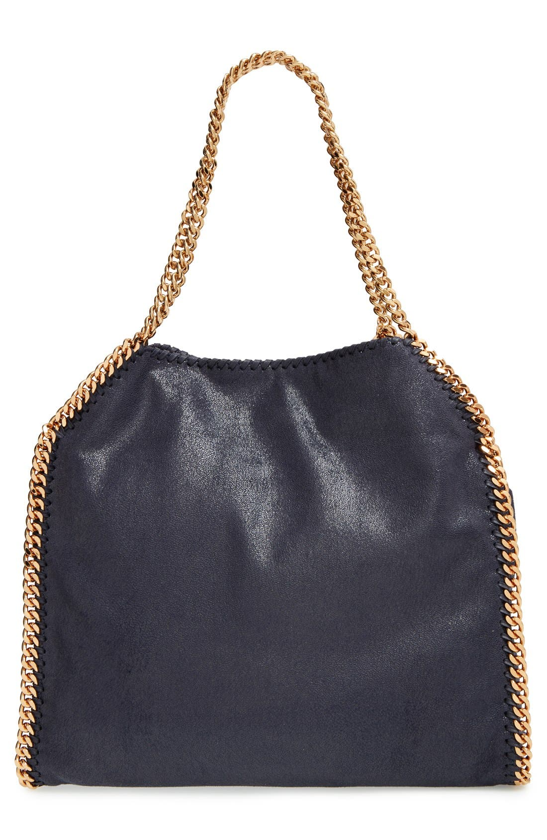 'Small Falabella - Shaggy Deer' Faux Leather Tote,                             Alternate thumbnail 3, color,                             400