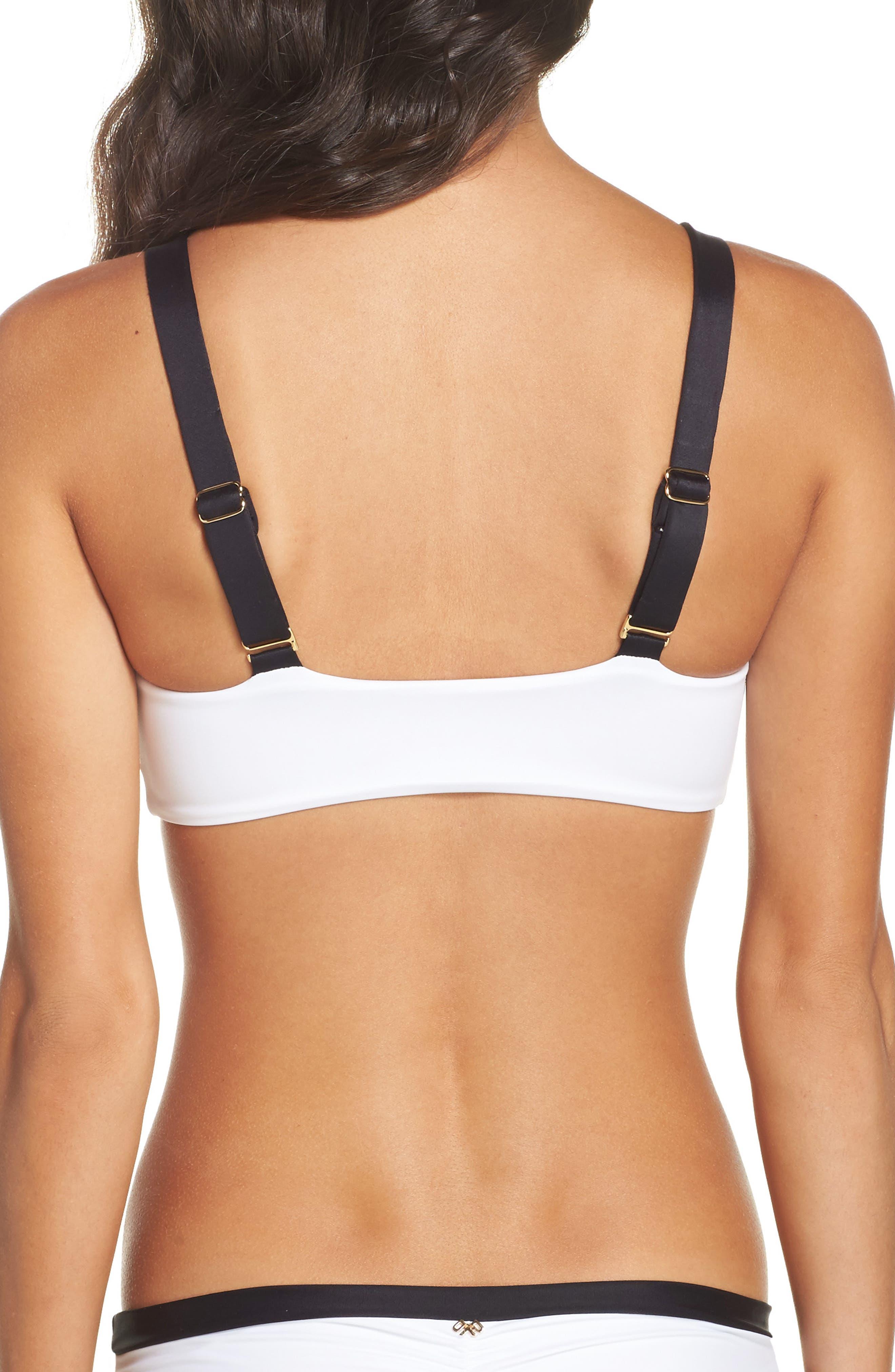 Sporty Utopia Bikini Top,                             Alternate thumbnail 2, color,                             001