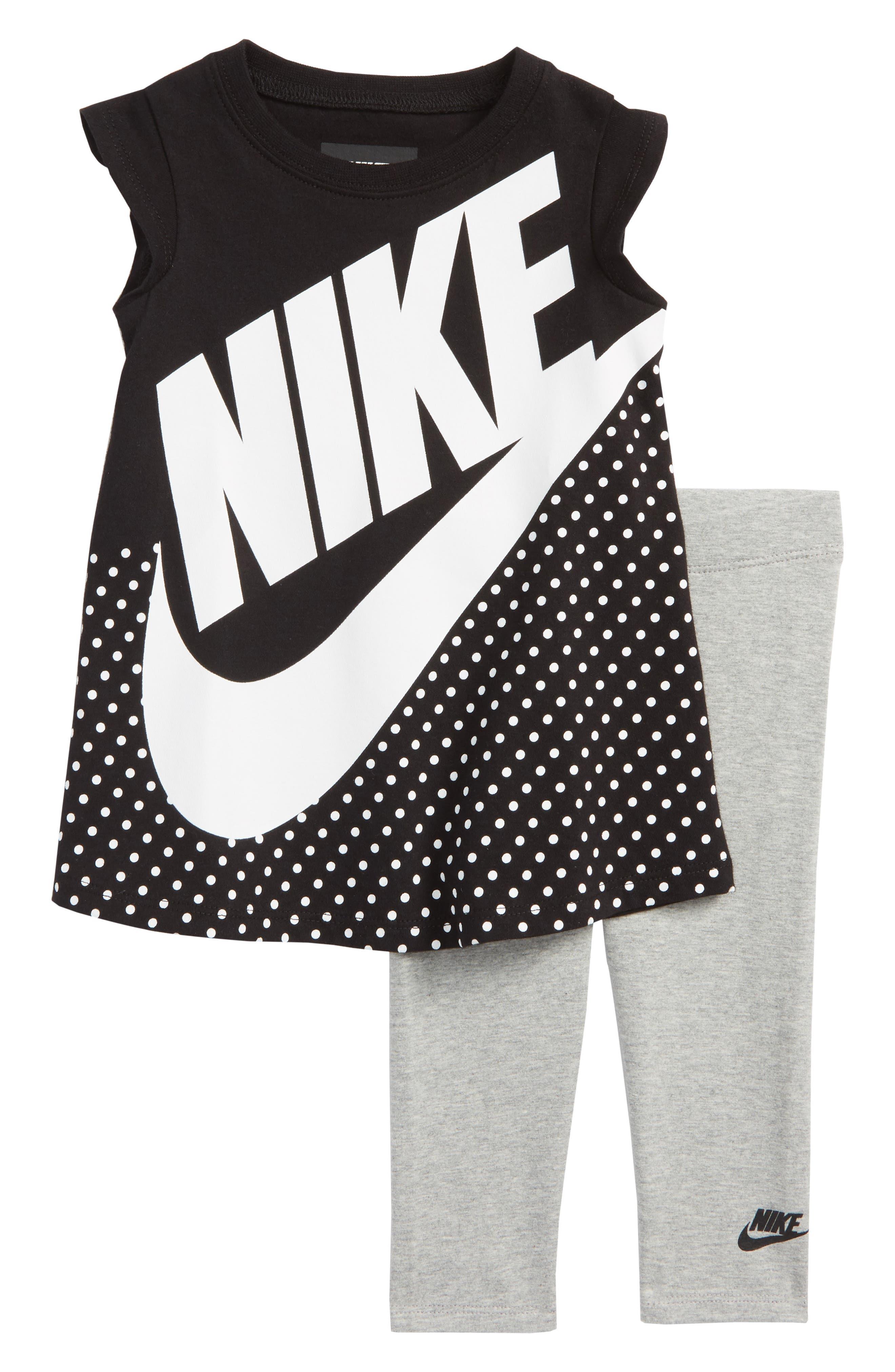 Futura Dress & Leggings Set,                         Main,                         color, 008