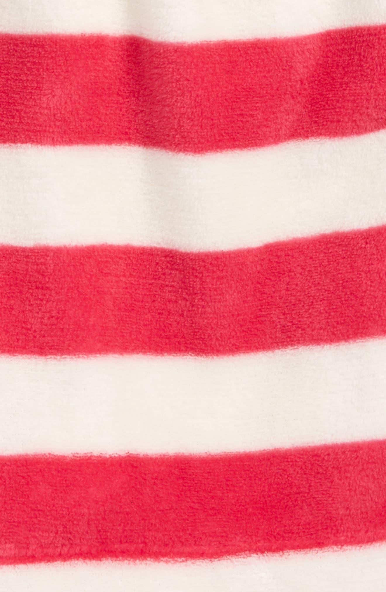 Fleece Sleep Shorts,                             Alternate thumbnail 2, color,                             PINK MAGENTA STRIPE