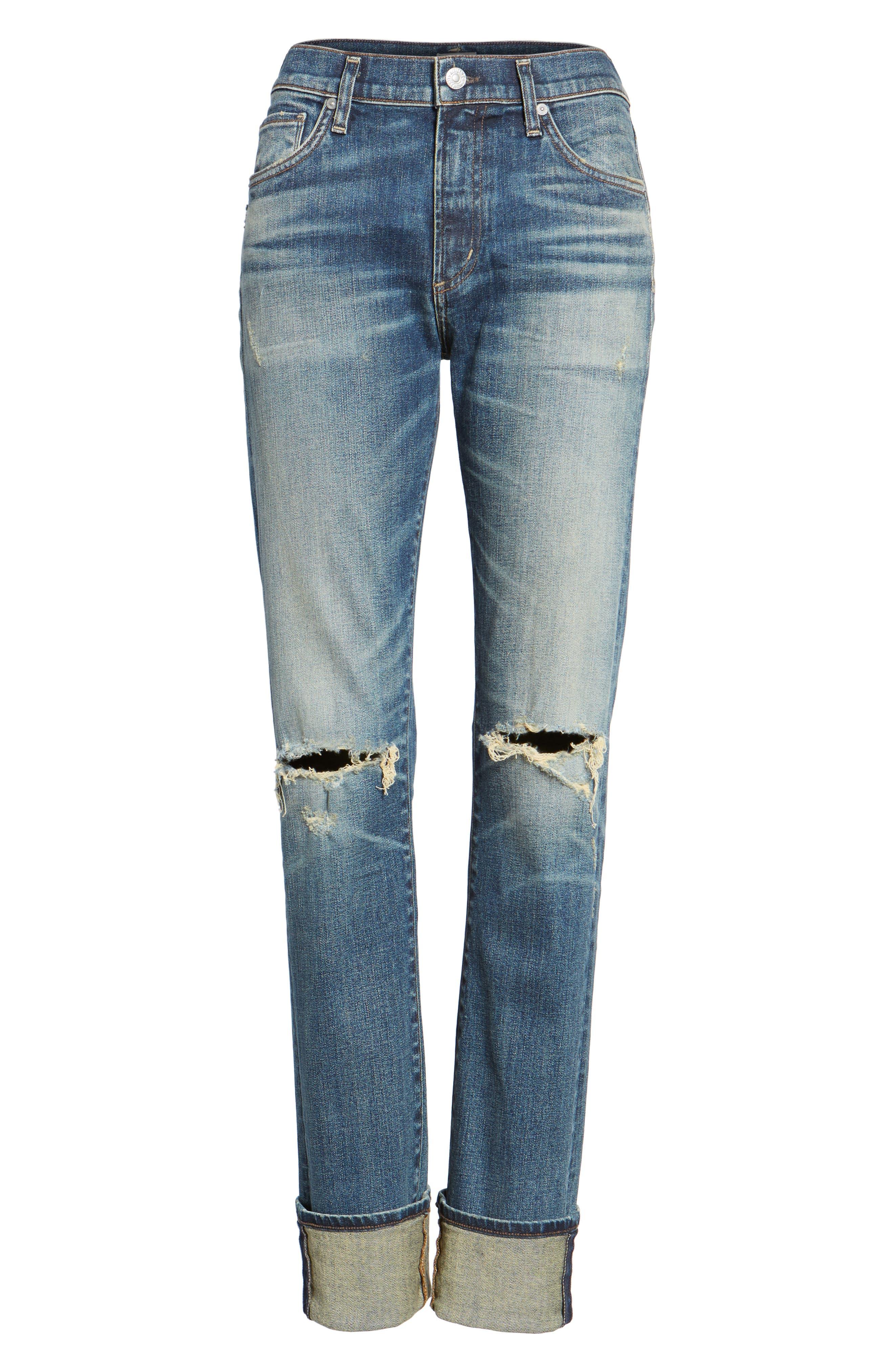 Agnes Long Jeans,                             Alternate thumbnail 6, color,