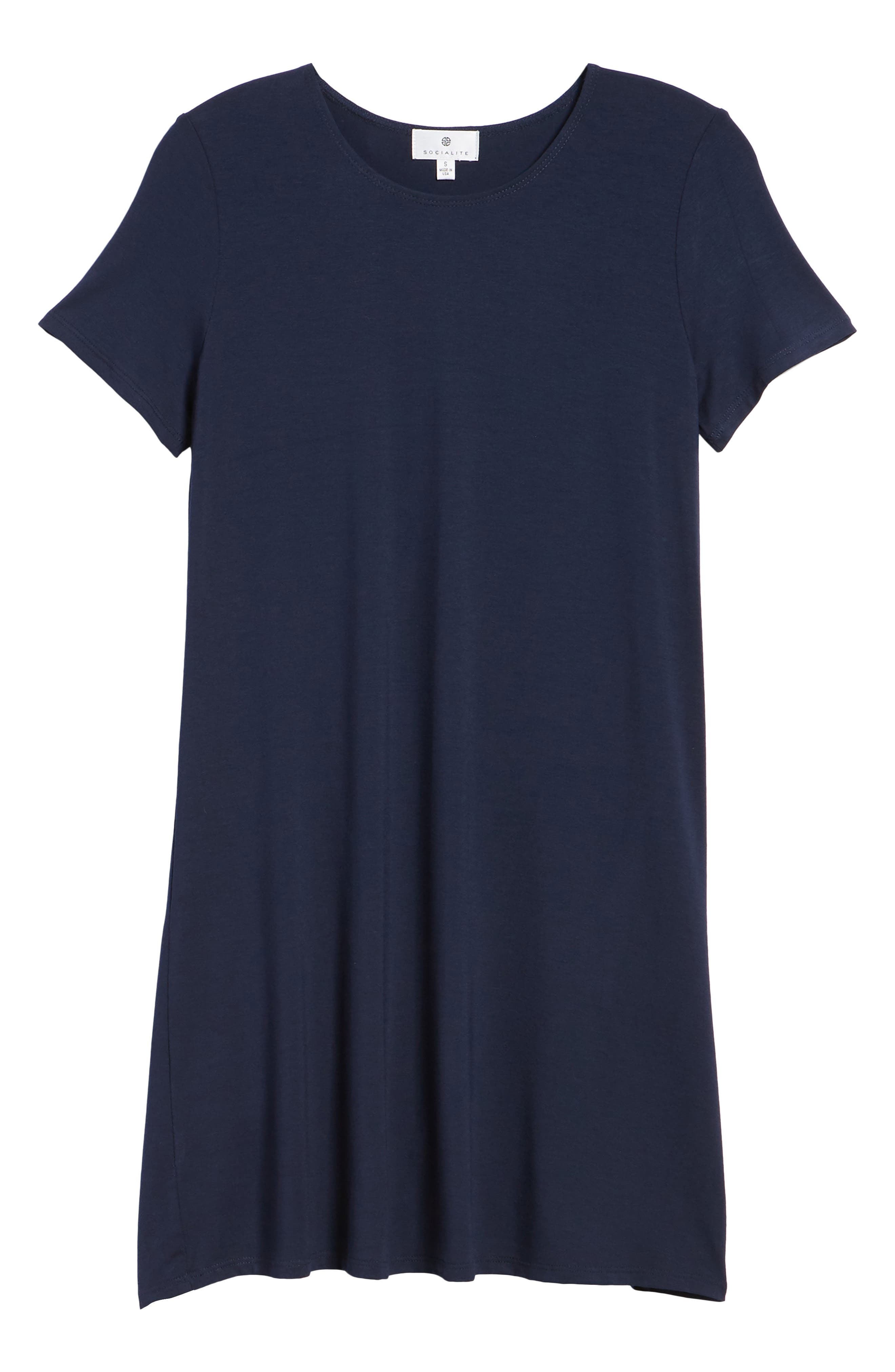 T-Shirt Dress,                             Alternate thumbnail 18, color,
