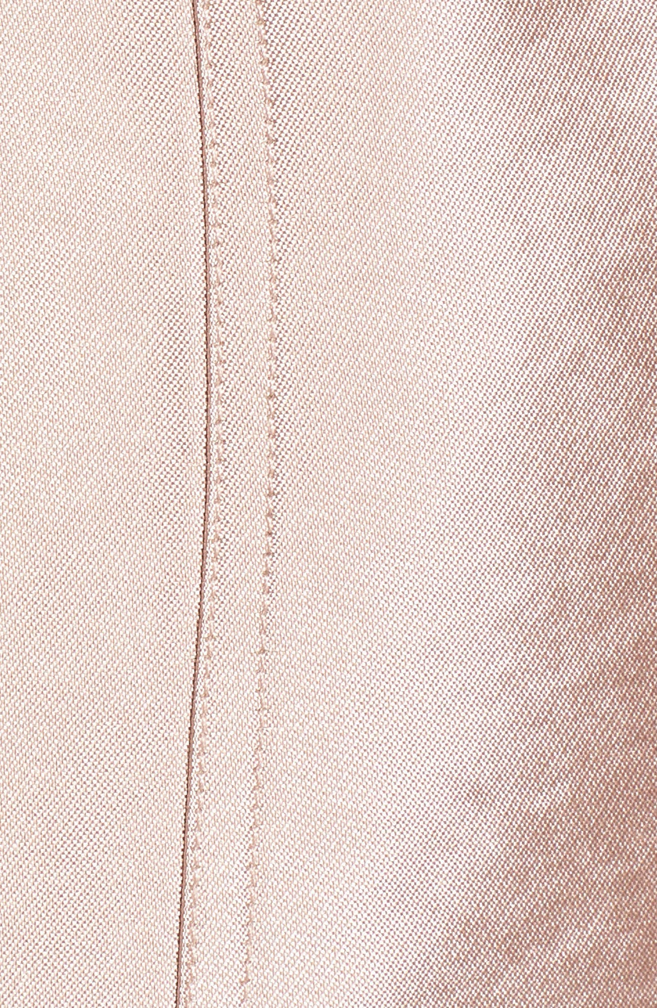 Shiny Safari Skirt,                             Alternate thumbnail 5, color,                             650