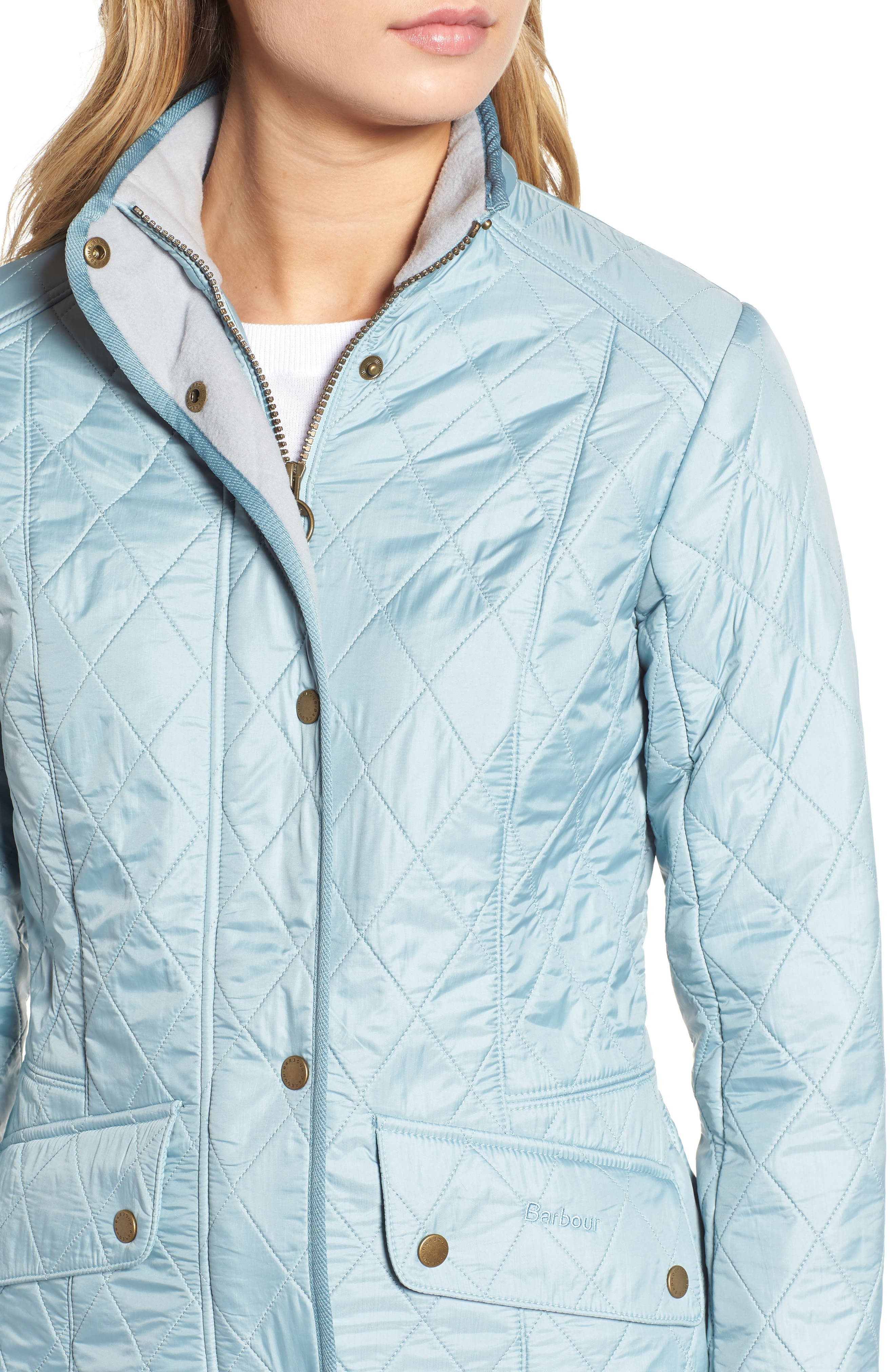'Cavalry' Quilted Jacket,                             Alternate thumbnail 41, color,