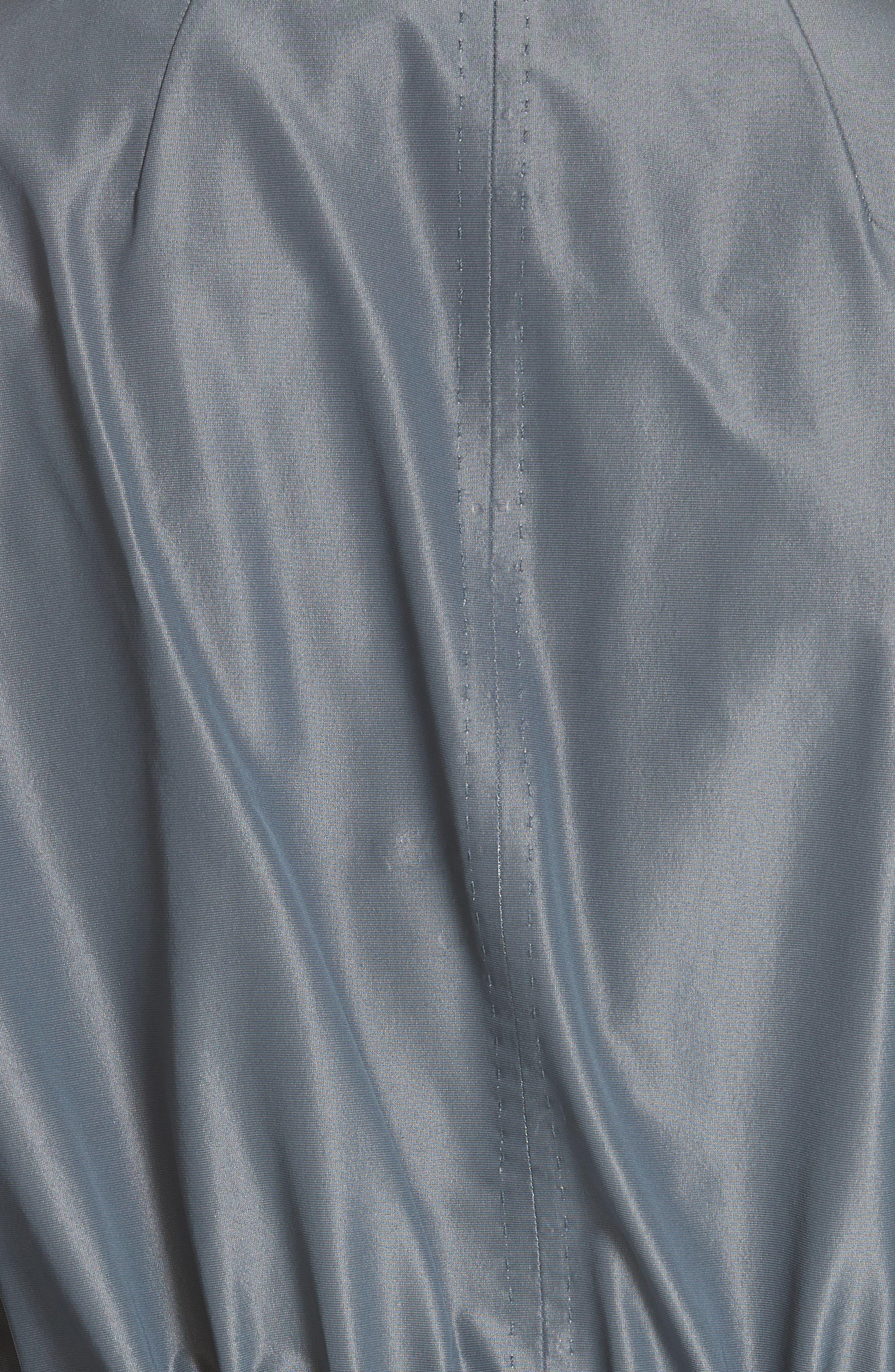 Stephania Jacket,                             Alternate thumbnail 7, color,                             PORT BLUE IRIDESCENT