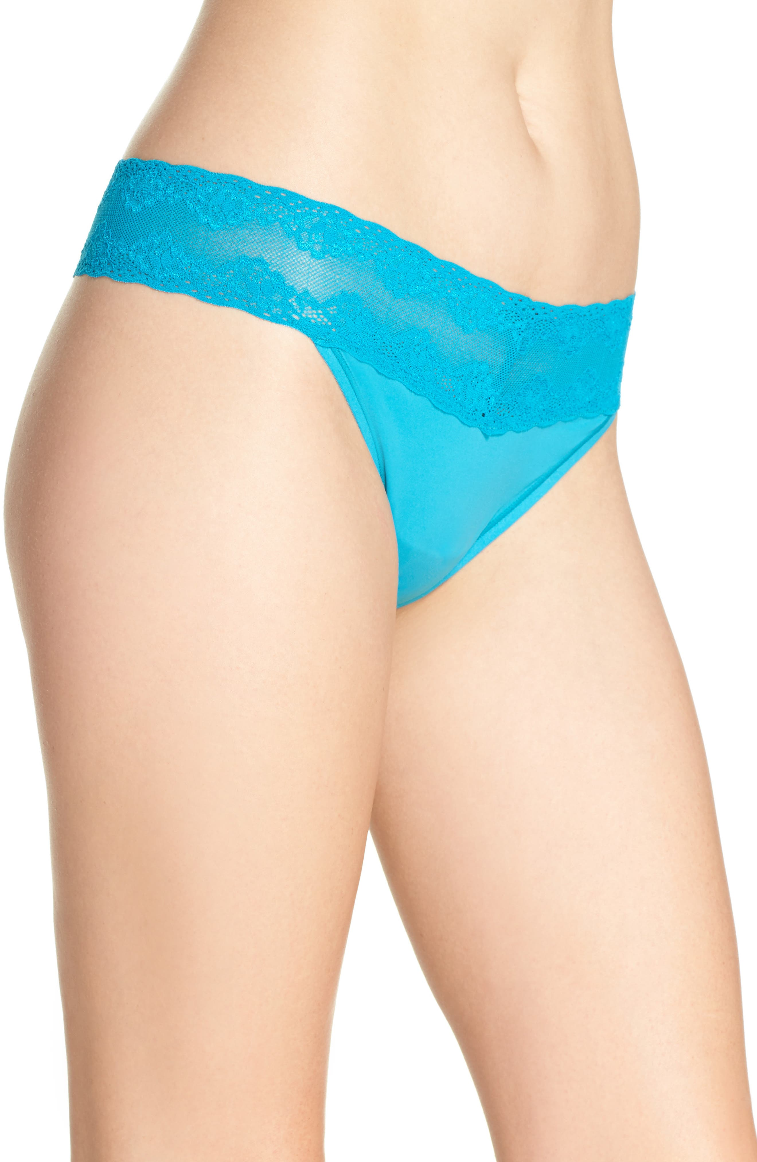 Bliss Perfection Thong,                             Alternate thumbnail 268, color,