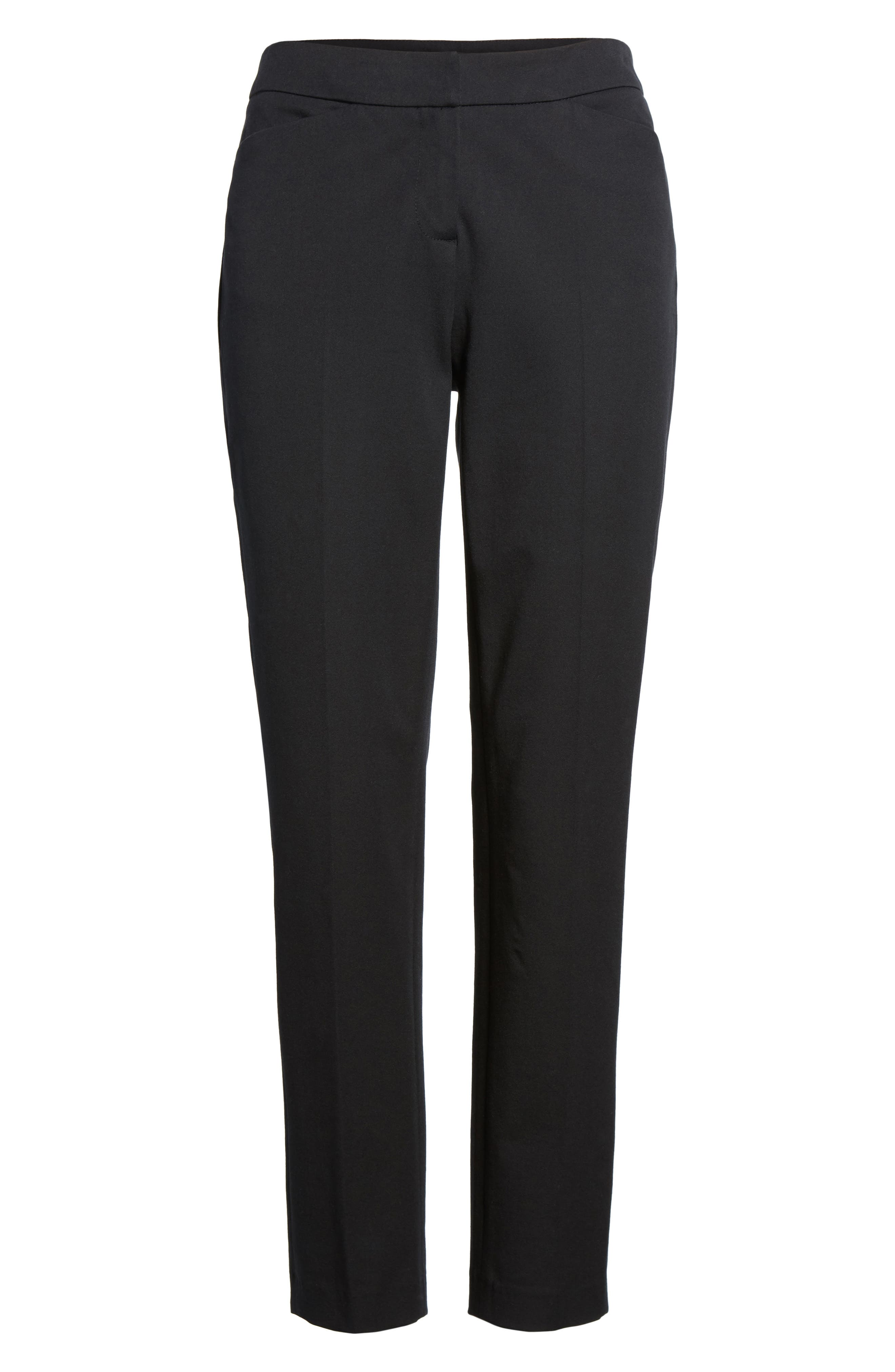 Ankle Pants,                             Alternate thumbnail 7, color,                             BLACK