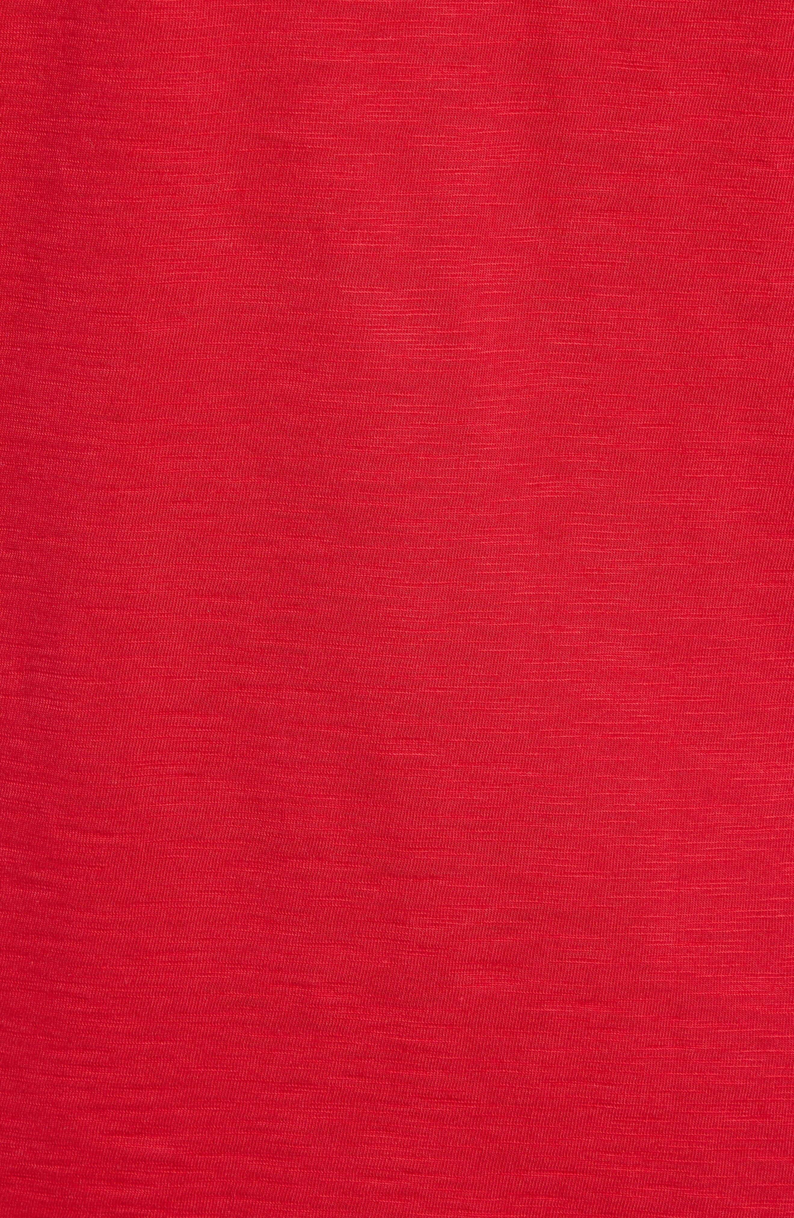 Mele Kalikimaka T-Shirt,                             Alternate thumbnail 5, color,                             SCOOTER RED